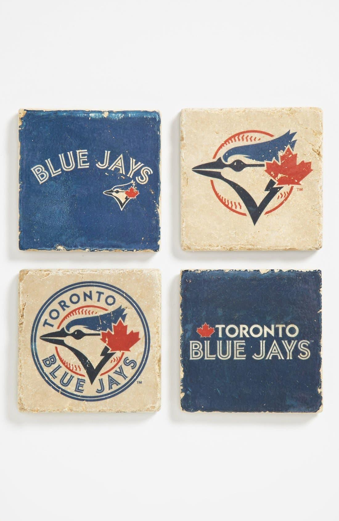Main Image - 'Toronto Blue Jays' Marble Coasters (Set of 4)