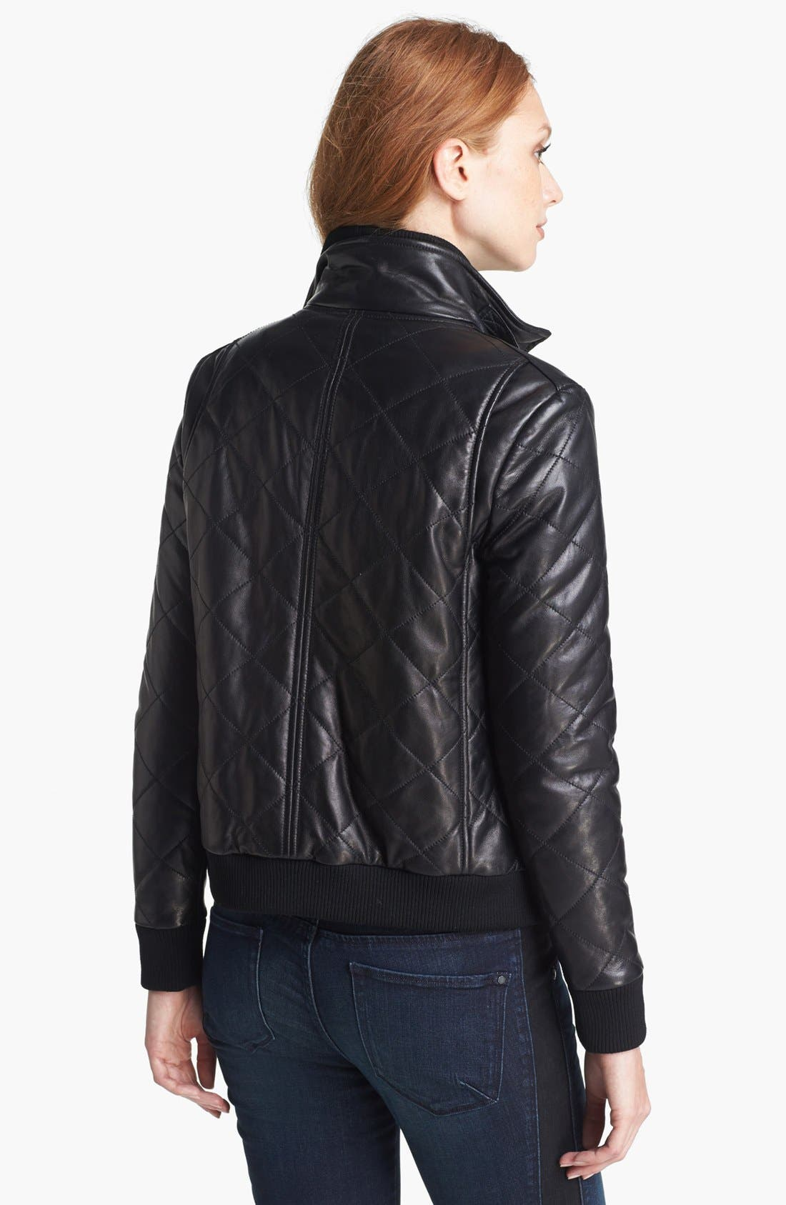 Alternate Image 2  - MARC BY MARC JACOBS 'Kent' Quilted Leather Jacket