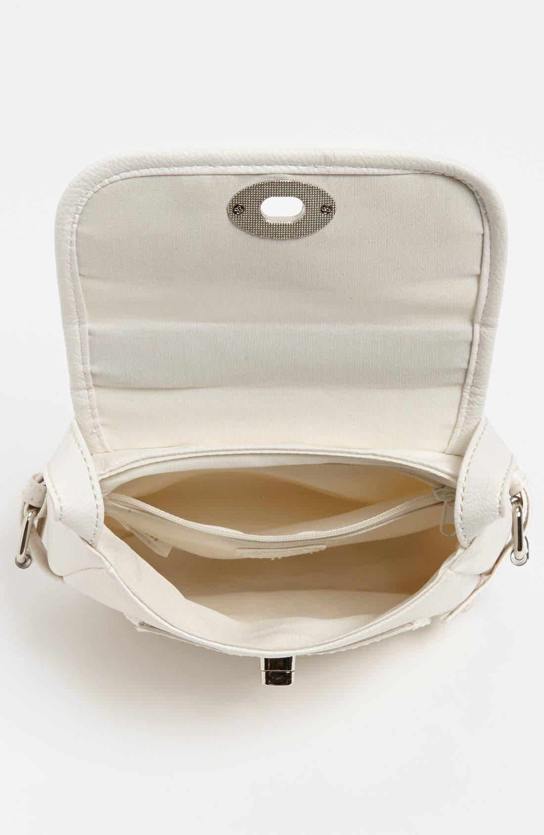 Alternate Image 3  - Cesca 'Top Notch' Crossbody Bag, Small