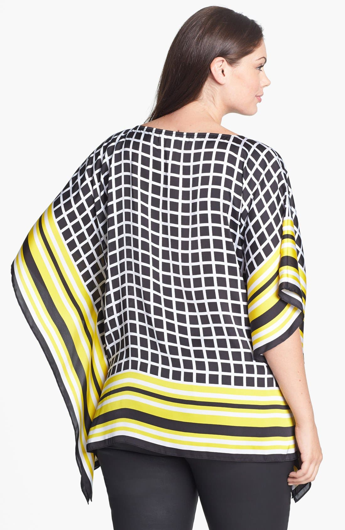 Alternate Image 2  - MICHAEL Michael Kors Print Flutter Top (Plus Size)