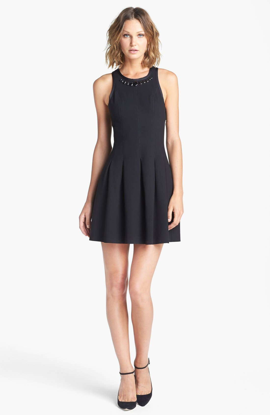 Alternate Image 1 Selected - Juicy Couture Fit & Flare Dress