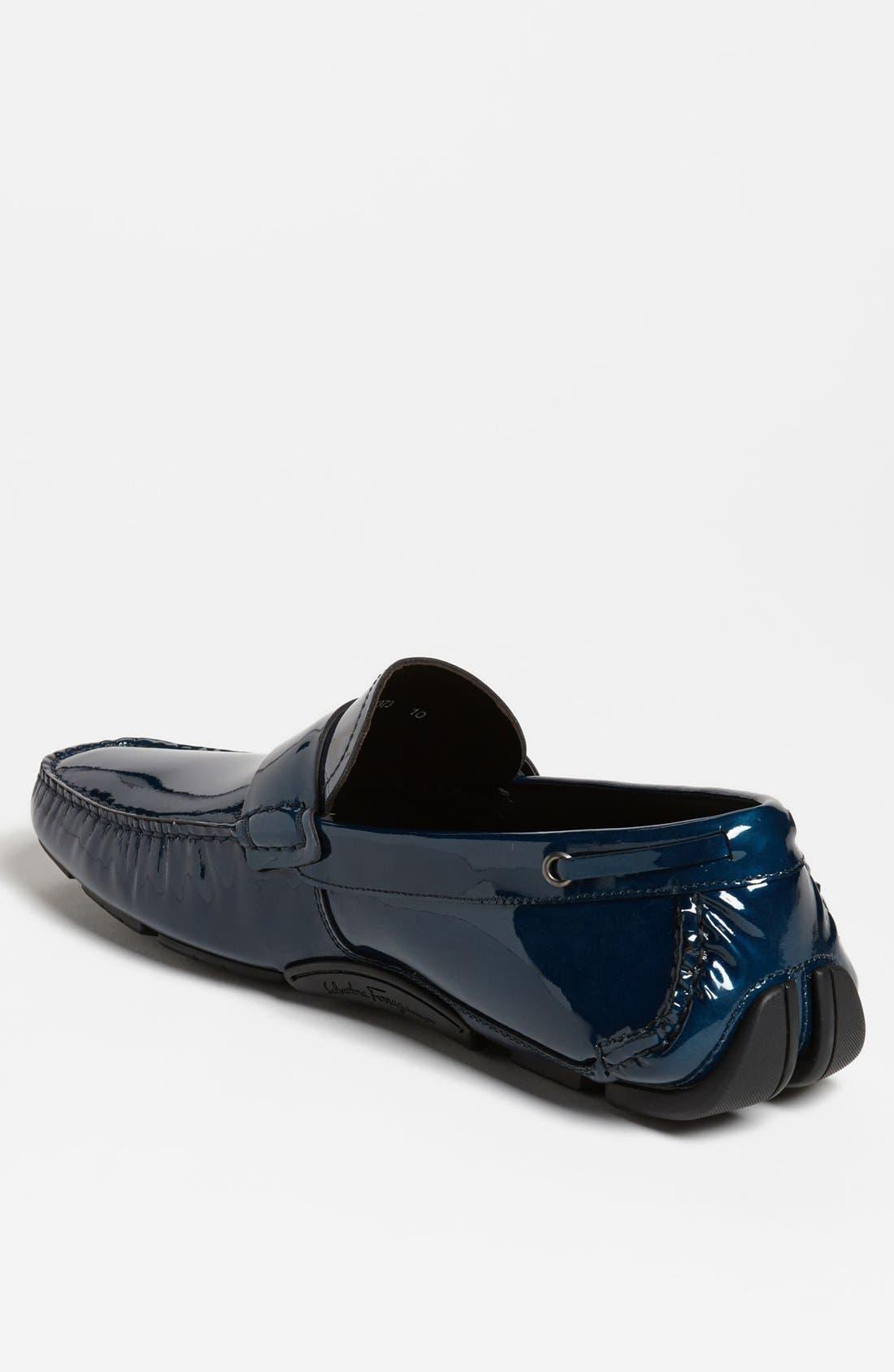 Alternate Image 2  - Salvatore Ferragamo 'Cabo' Driving Shoe