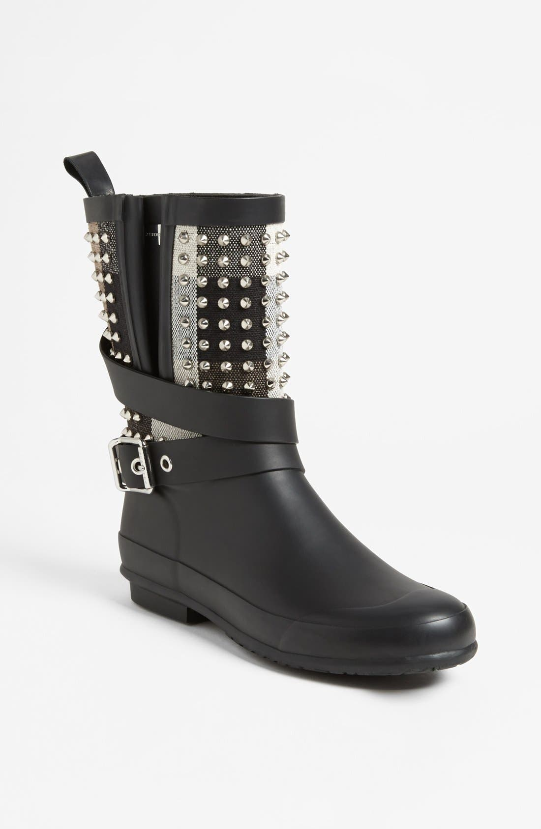 Alternate Image 1 Selected - Burberry 'Holloway' Rain Boot (Women)