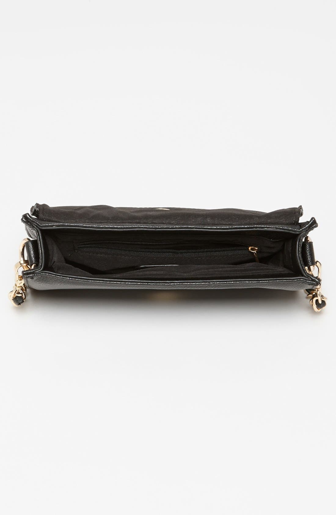 Alternate Image 3  - NB Handbags Quilted Crossbody Bag (Juniors)