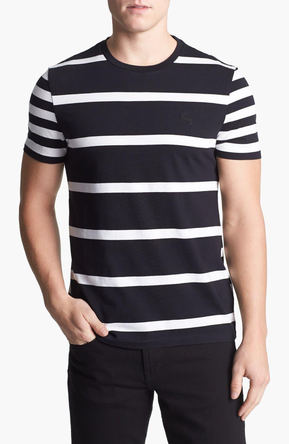 Main Image - Burberry Brit 'Hume' Stripe T-Shirt