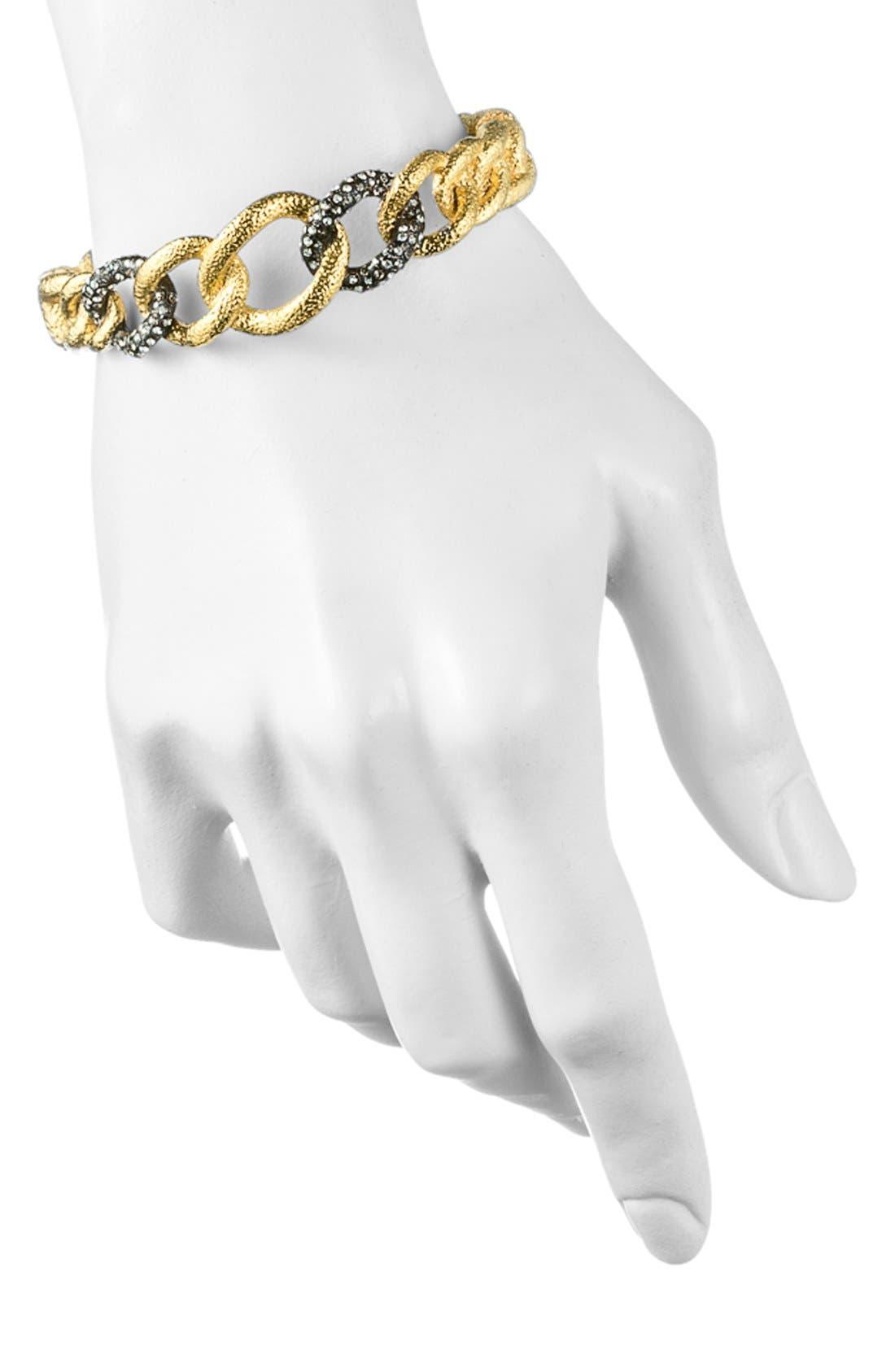 Alternate Image 3  - Alexis Bittar 'Elements - Jardin de Papillon' Hinged Chain Link Bracelet
