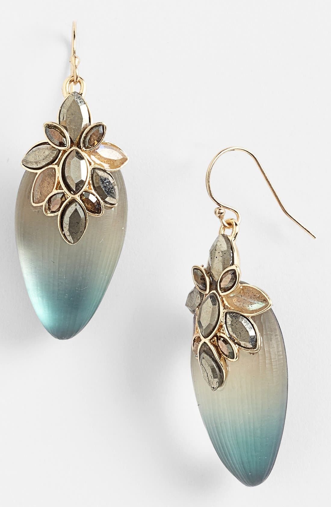 Alternate Image 1 Selected - Alexis Bittar 'Lucite® - Neo Bohemian' Ombré Drop Earrings