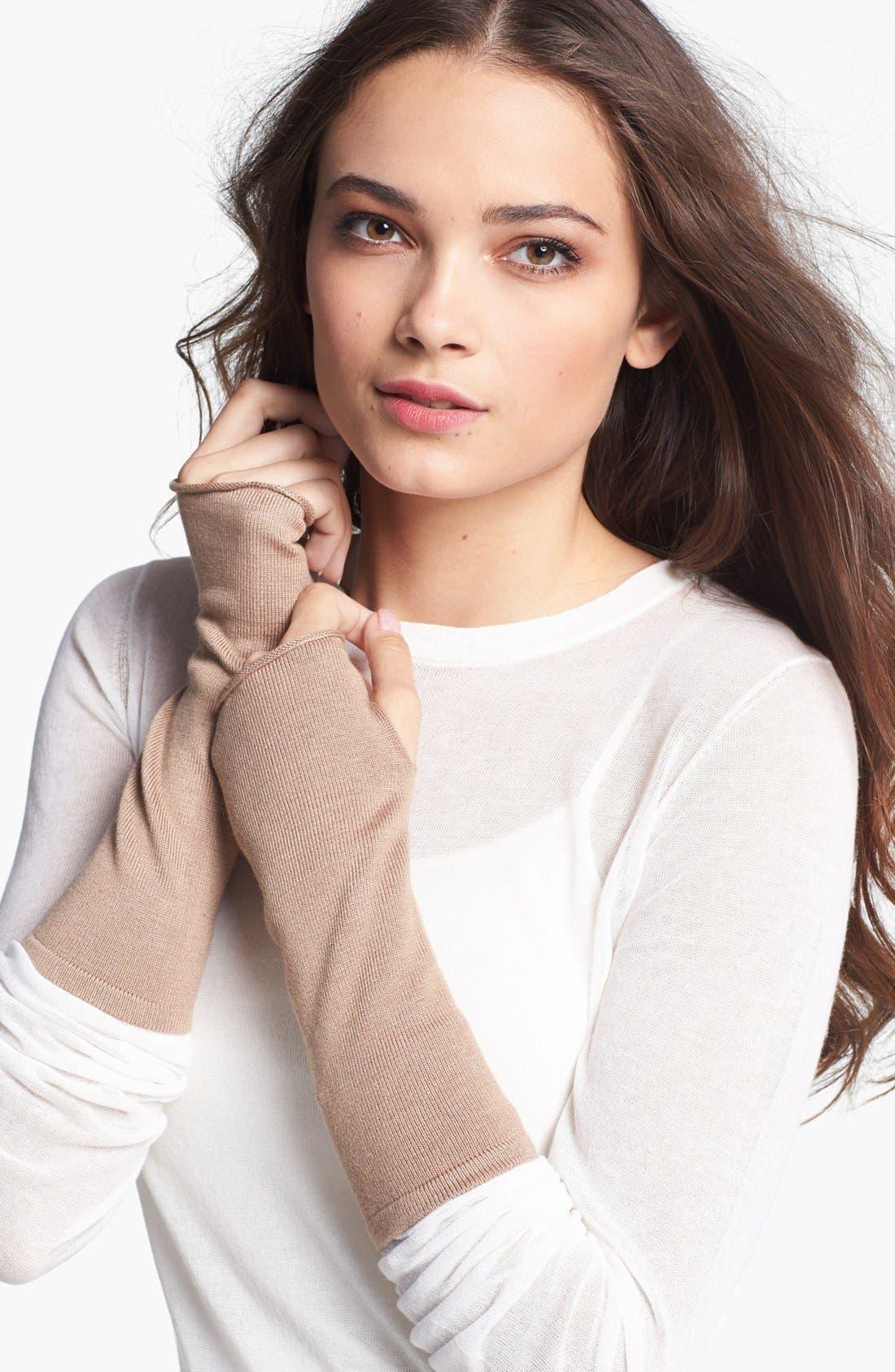 Alternate Image 1 Selected - Echo 'Seasonless' Fingerless Gloves