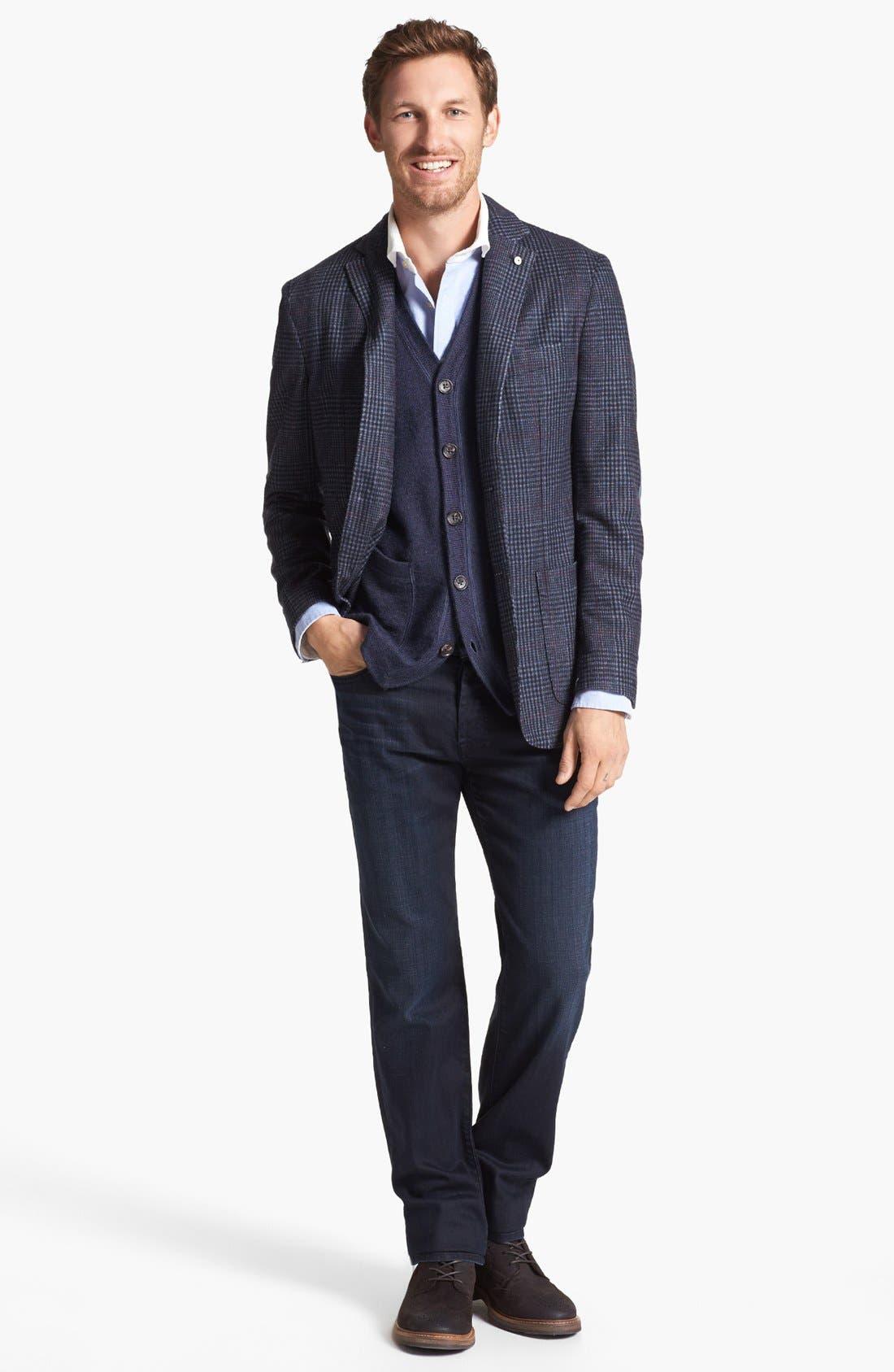 Alternate Image 2  - Wallin & Bros. 'Milton' Trim Fit Vest