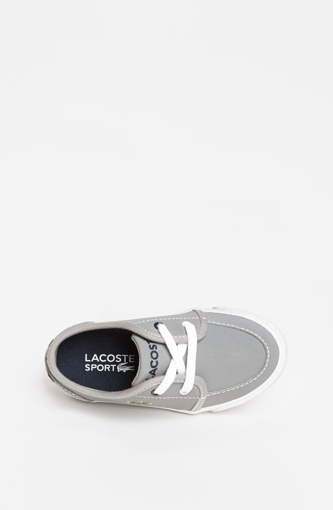 Alternate Image 3  - Lacoste 'Boat DE' Sneaker (Toddler)