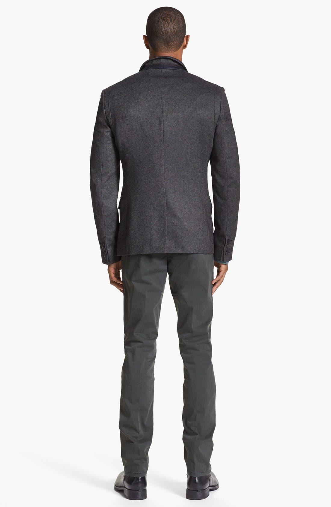Alternate Image 5  - HUGO 'Adgar' Twill Sportcoat