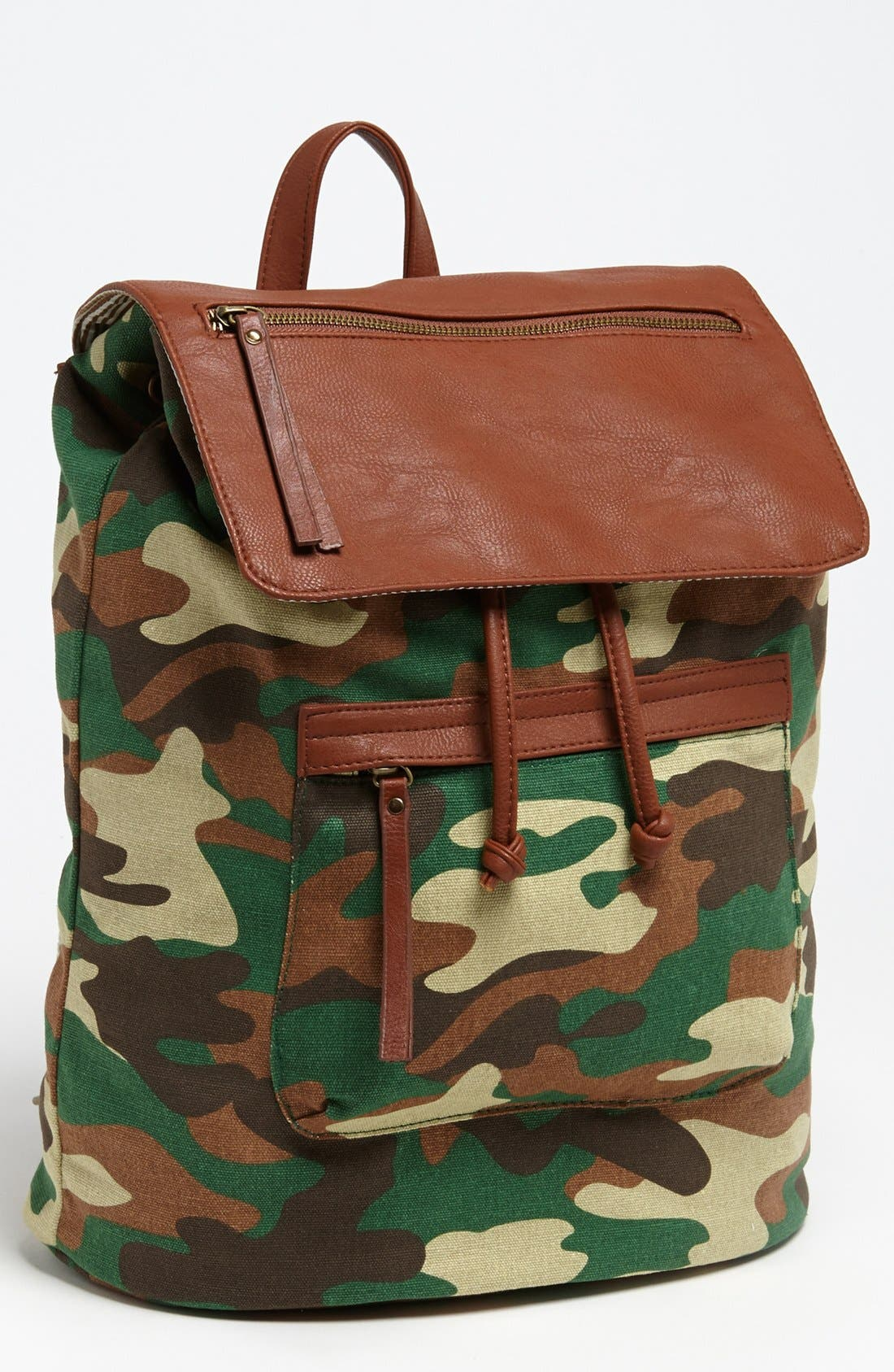 Main Image - Steve Madden Canvas Backpack