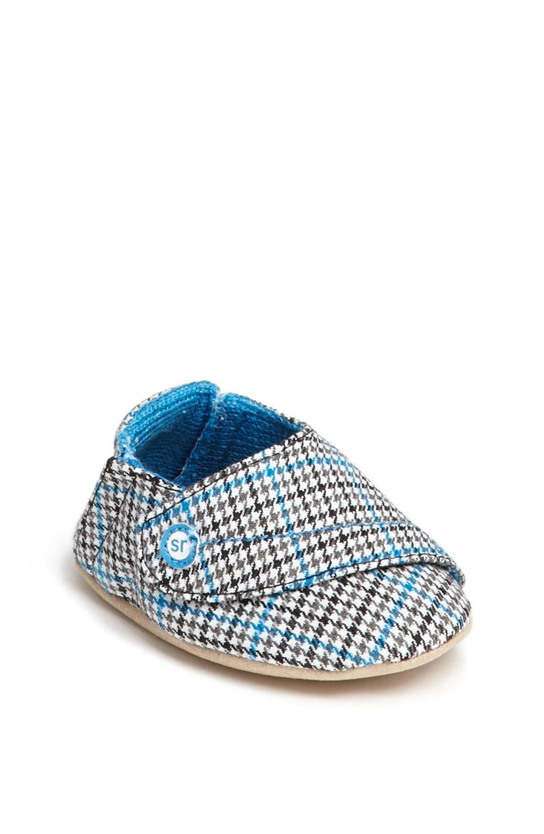 Main Image - Stride Rite 'Hip Houndstooth' Crib Shoe (Baby Boys)