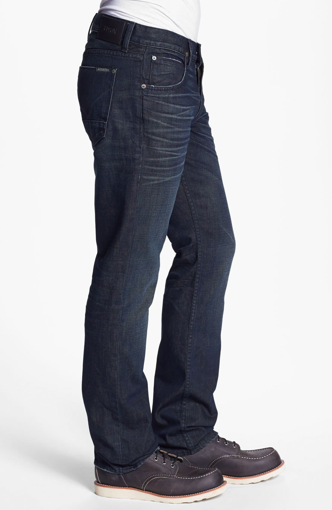 Alternate Image 3  - Hudson Jeans 'Byron' Straight Leg Jeans (Pyle)