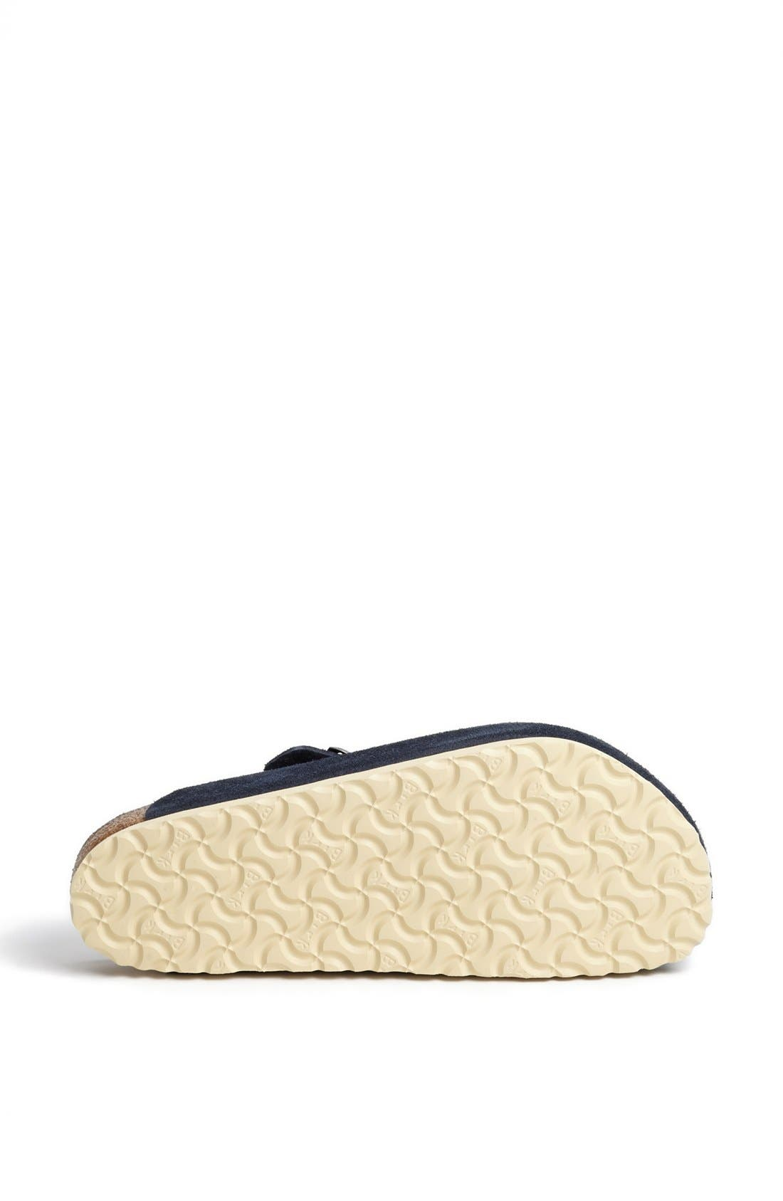 Alternate Image 4  - Birkenstock 'Boston Soft' Suede Clog (Men)
