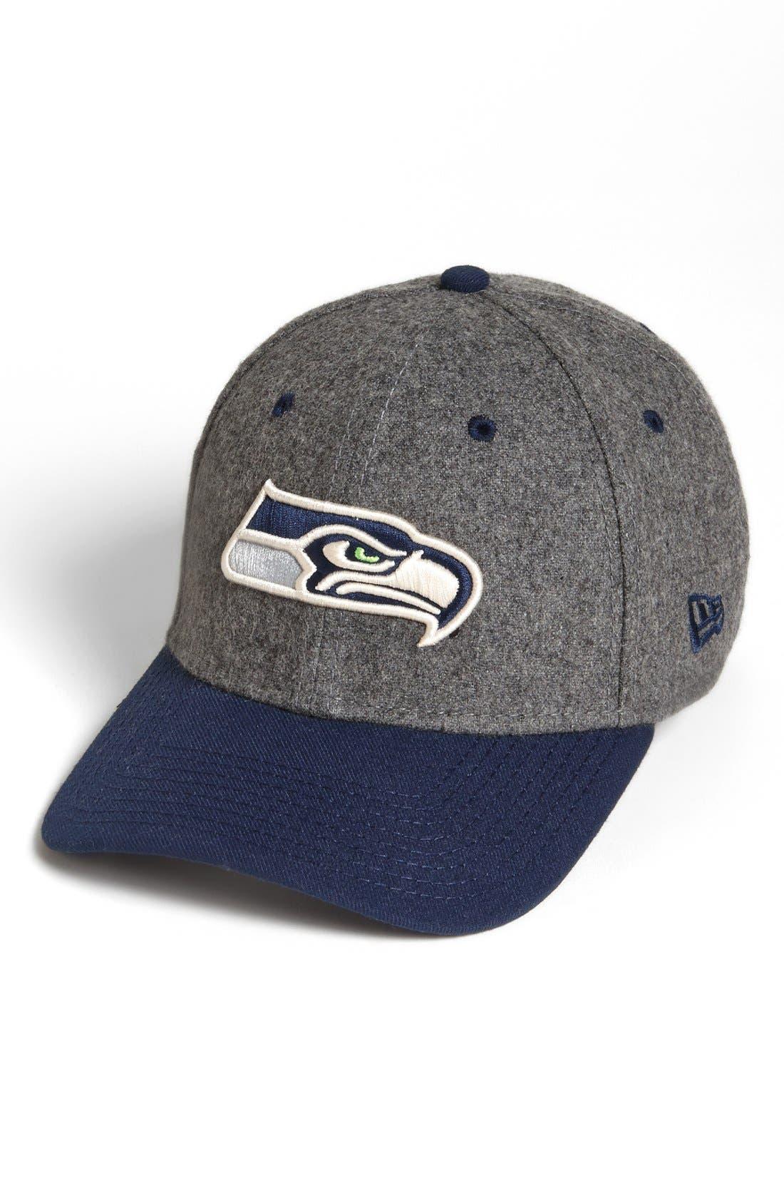 Alternate Image 1 Selected - New Era Cap 'Meltop - Seattle Seahawks' Fitted Baseball Cap