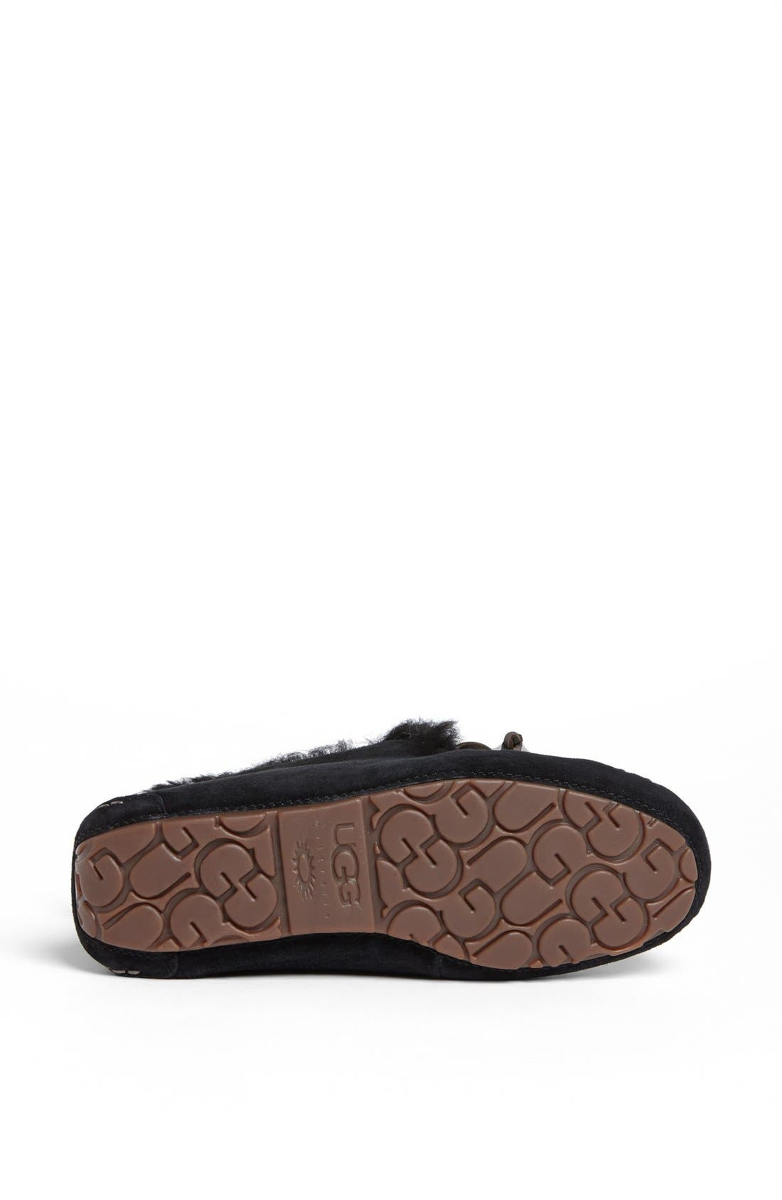 Alternate Image 4  - UGG® UGGpure™ Alena Suede Slipper Bootie (Women)