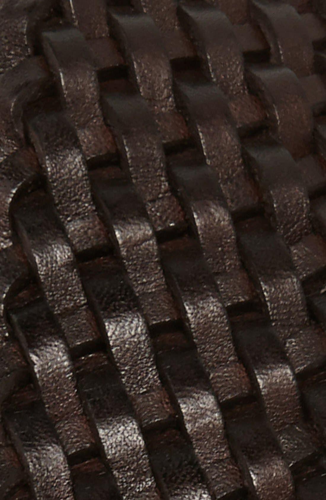 Alternate Image 2  - Ted Baker London Woven Leather Belt