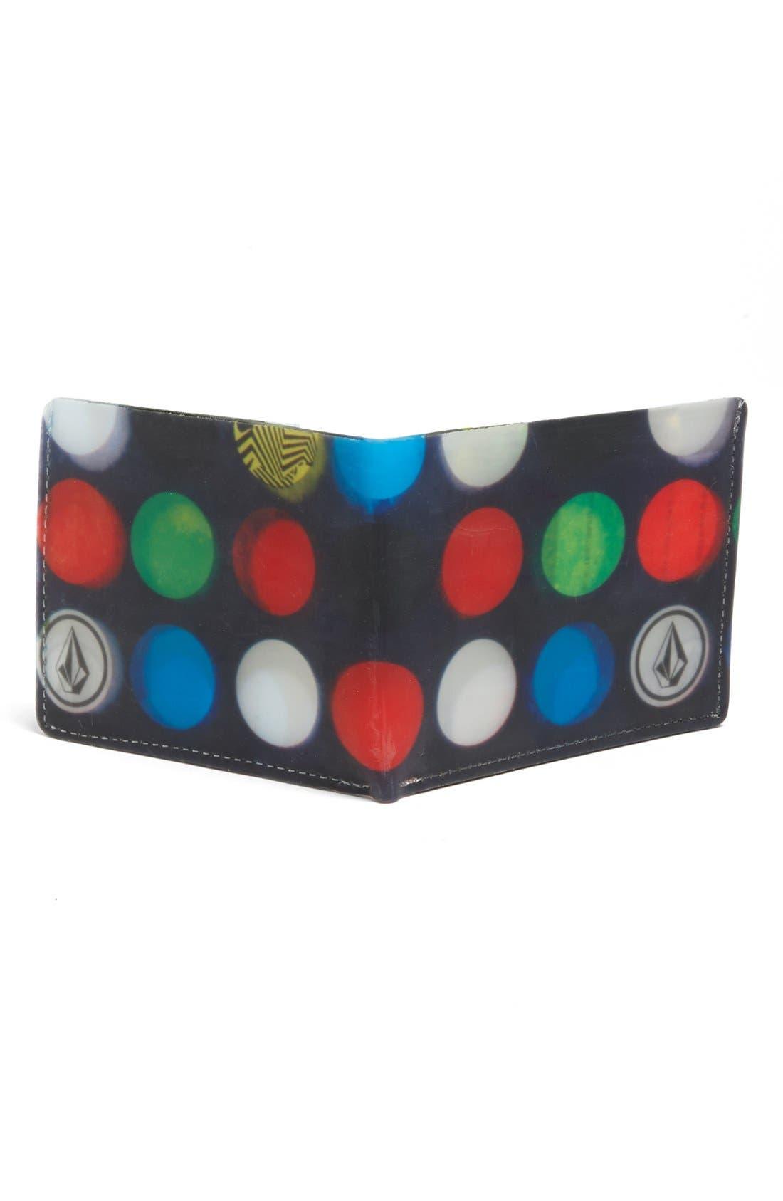 Alternate Image 2  - Volcom 'Dot Mess' Wallet (Boys)