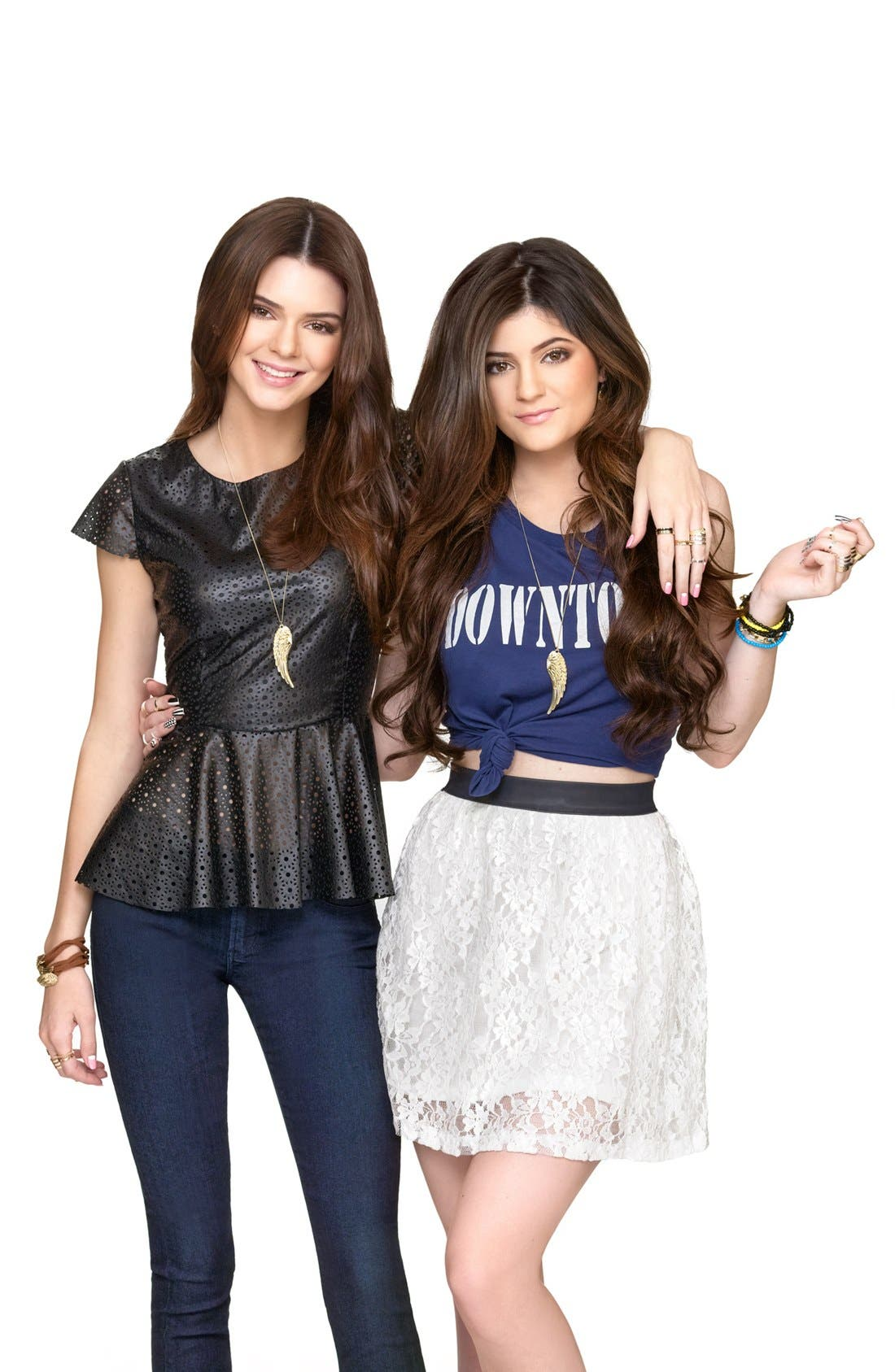 Alternate Image 2  - Metal Haven by KENDALL + KYLIE 'Friends' Necklaces (Set of 2) (Juniors) (Nordstrom Exclusive)