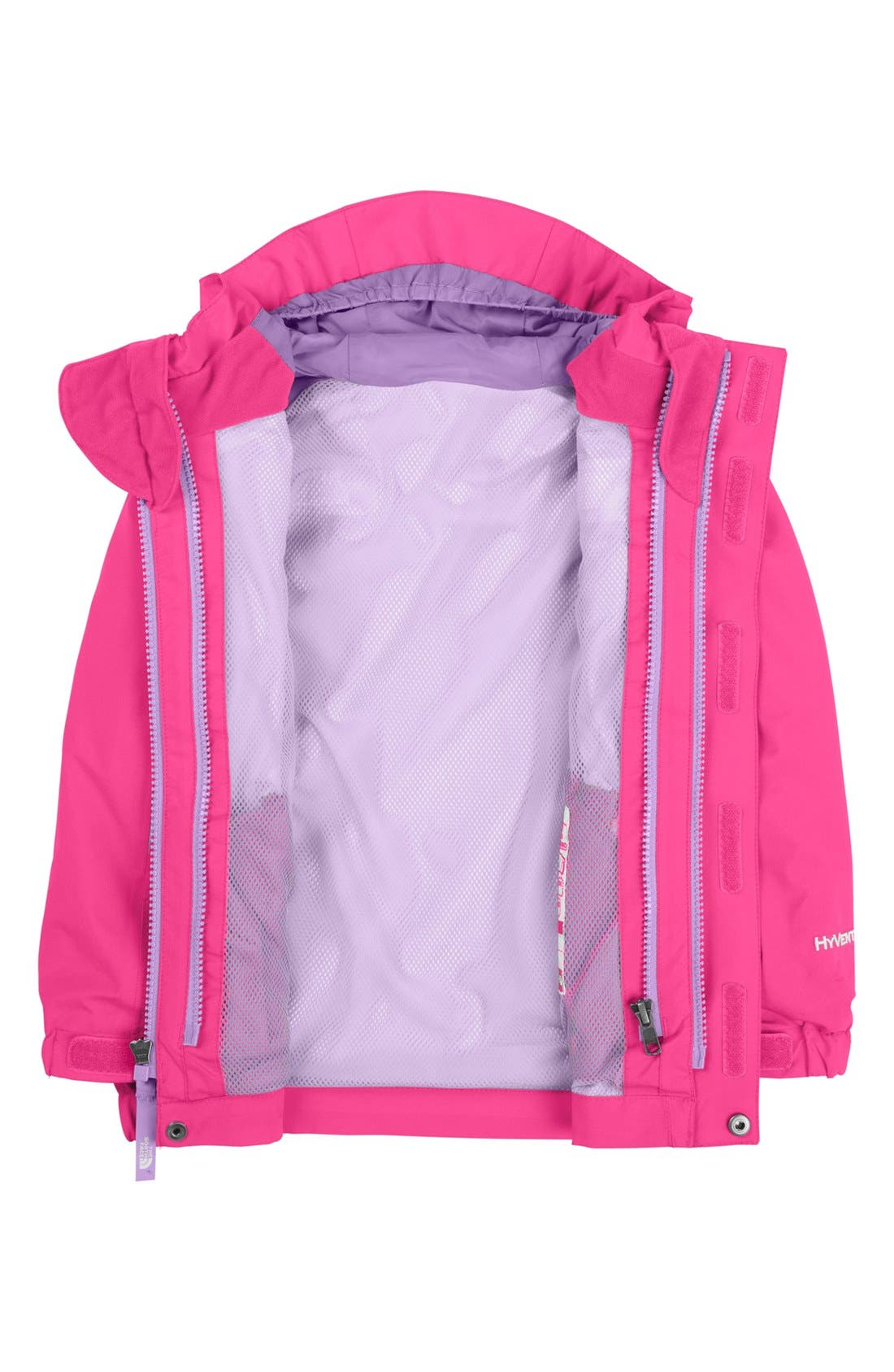Alternate Image 3  - The North Face 'Mountain View TriClimate®' 3-in-1 Jacket (Toddler Girls)