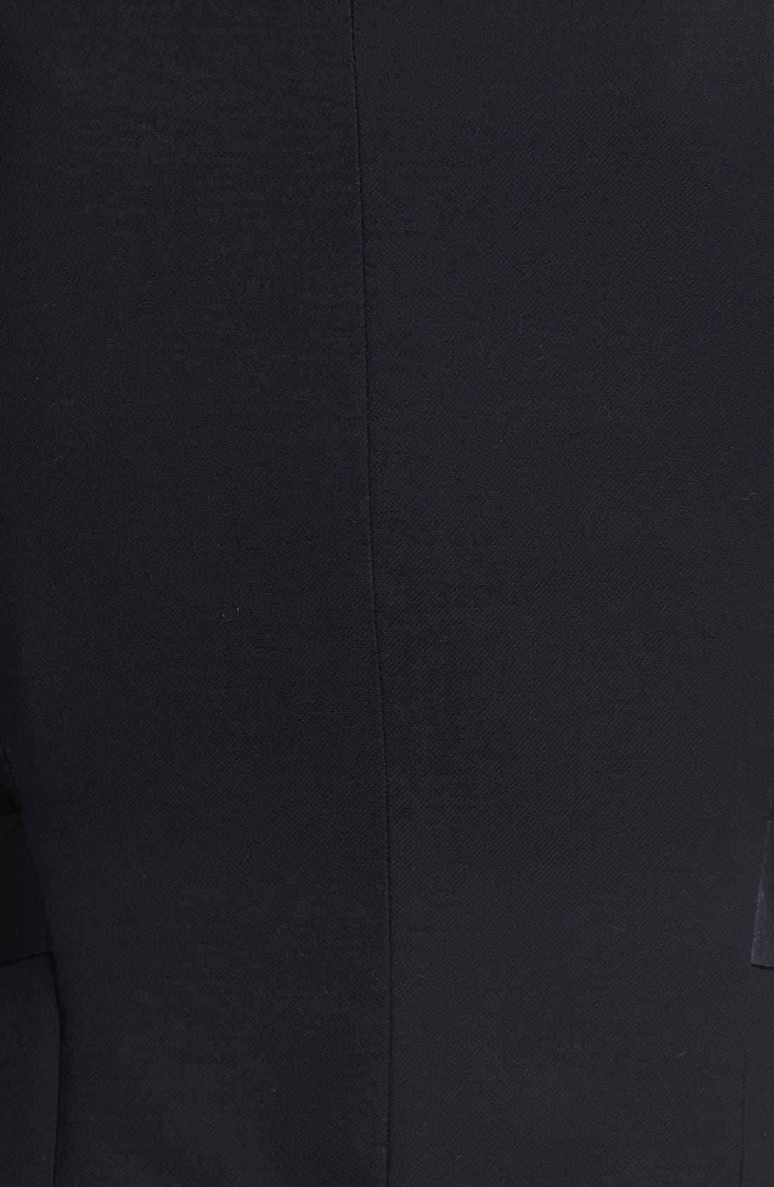 Alternate Image 3  - Lafayette 148 New York 'Wanda' Leather Trim Jacket