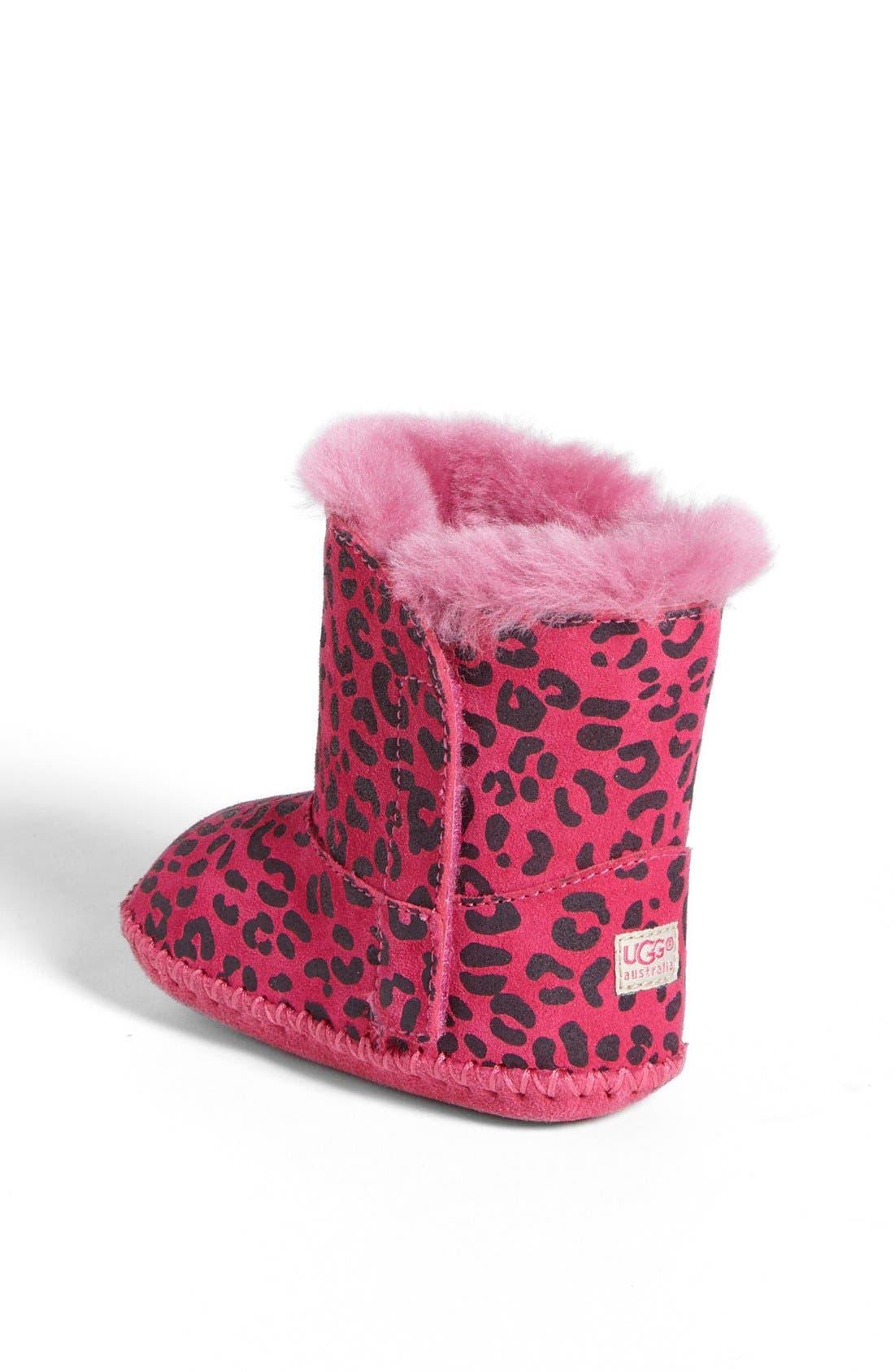 Alternate Image 2  - UGG® Australia 'Cassie' Leopard Print Boot (Baby & Walker)(Nordstrom Exclusive)