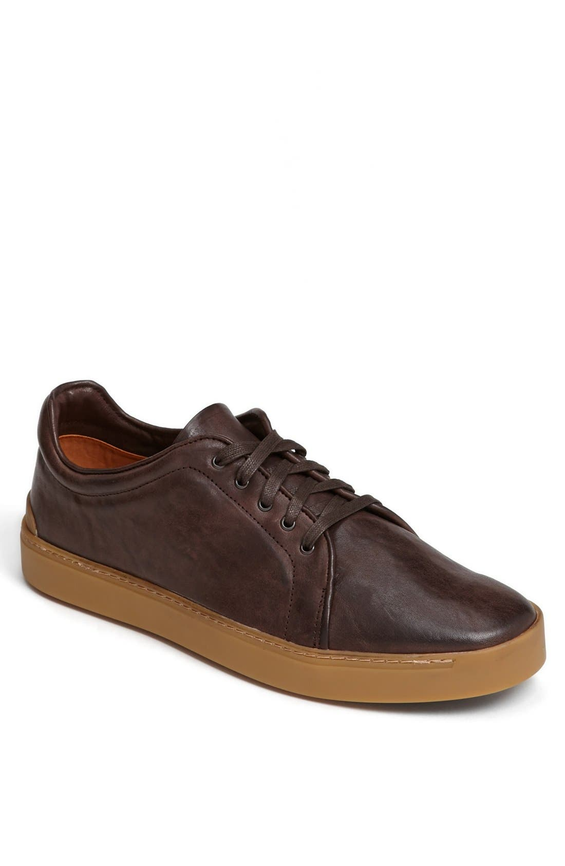 Main Image - rag & bone 'Kent' Leather Sneaker
