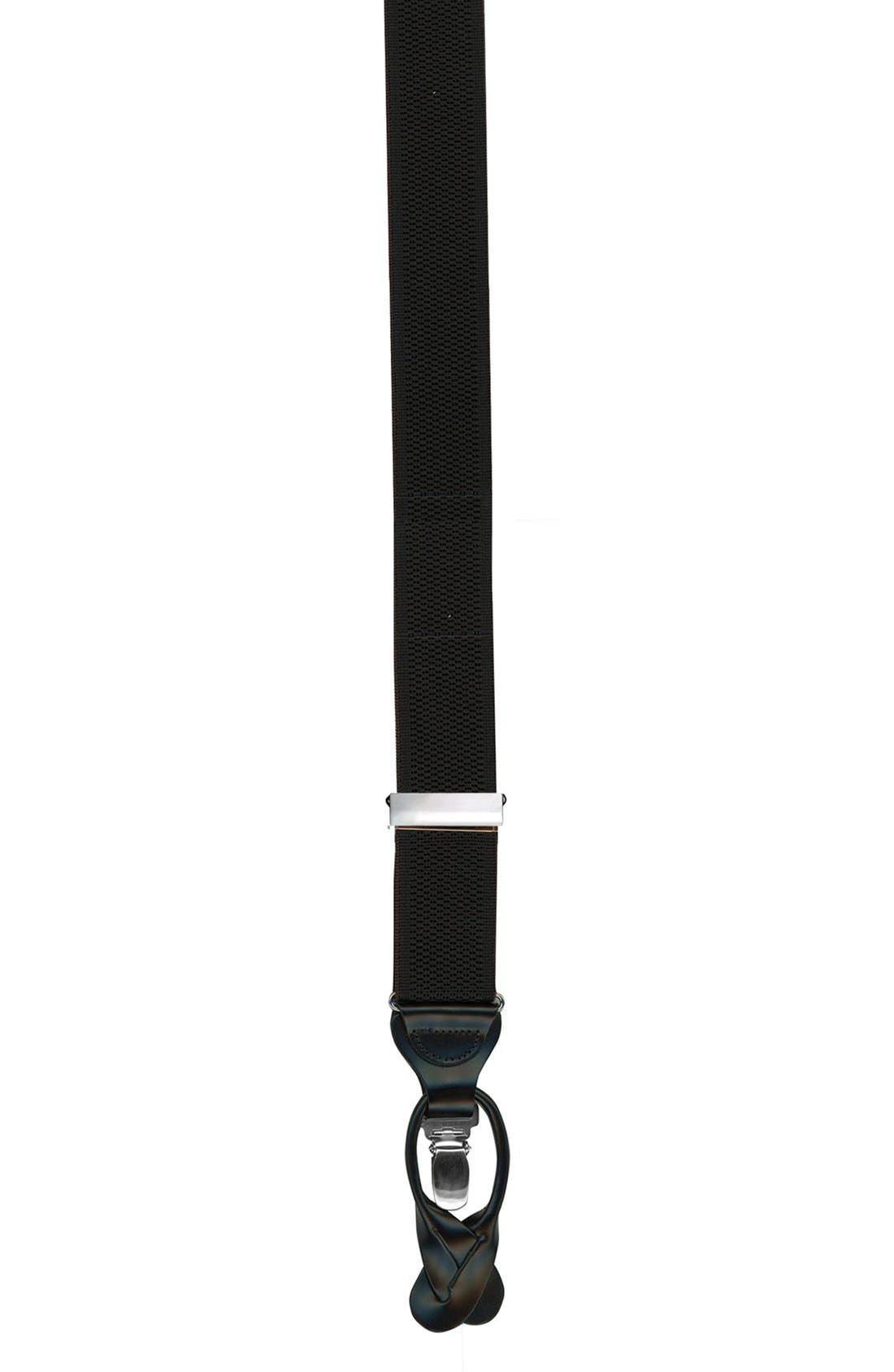 Trafalgar Convertible Stretch Nylon Suspenders