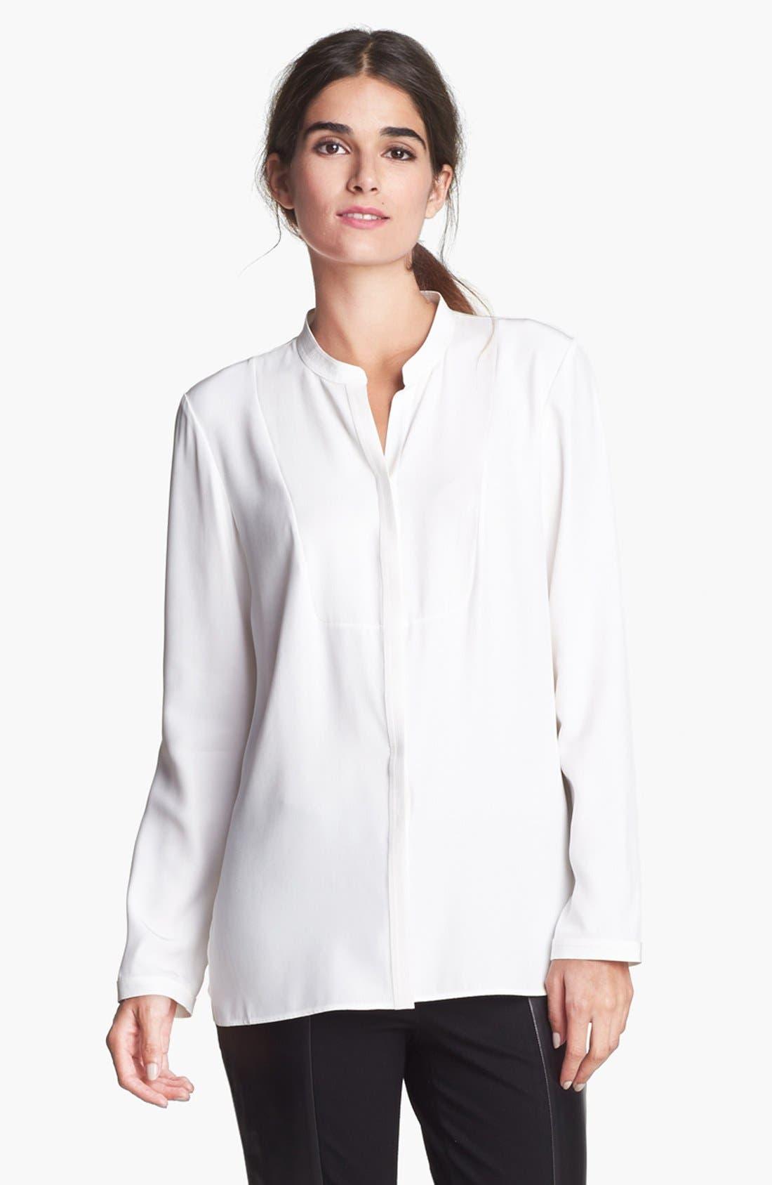 Main Image - Lafayette 148 New York 'Merrill' Silk Blouse