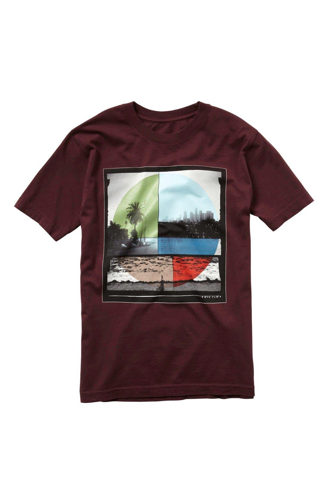 Alternate Image 1 Selected - Quiksilver 'Ocean Mix' T-Shirt (Little Boys)