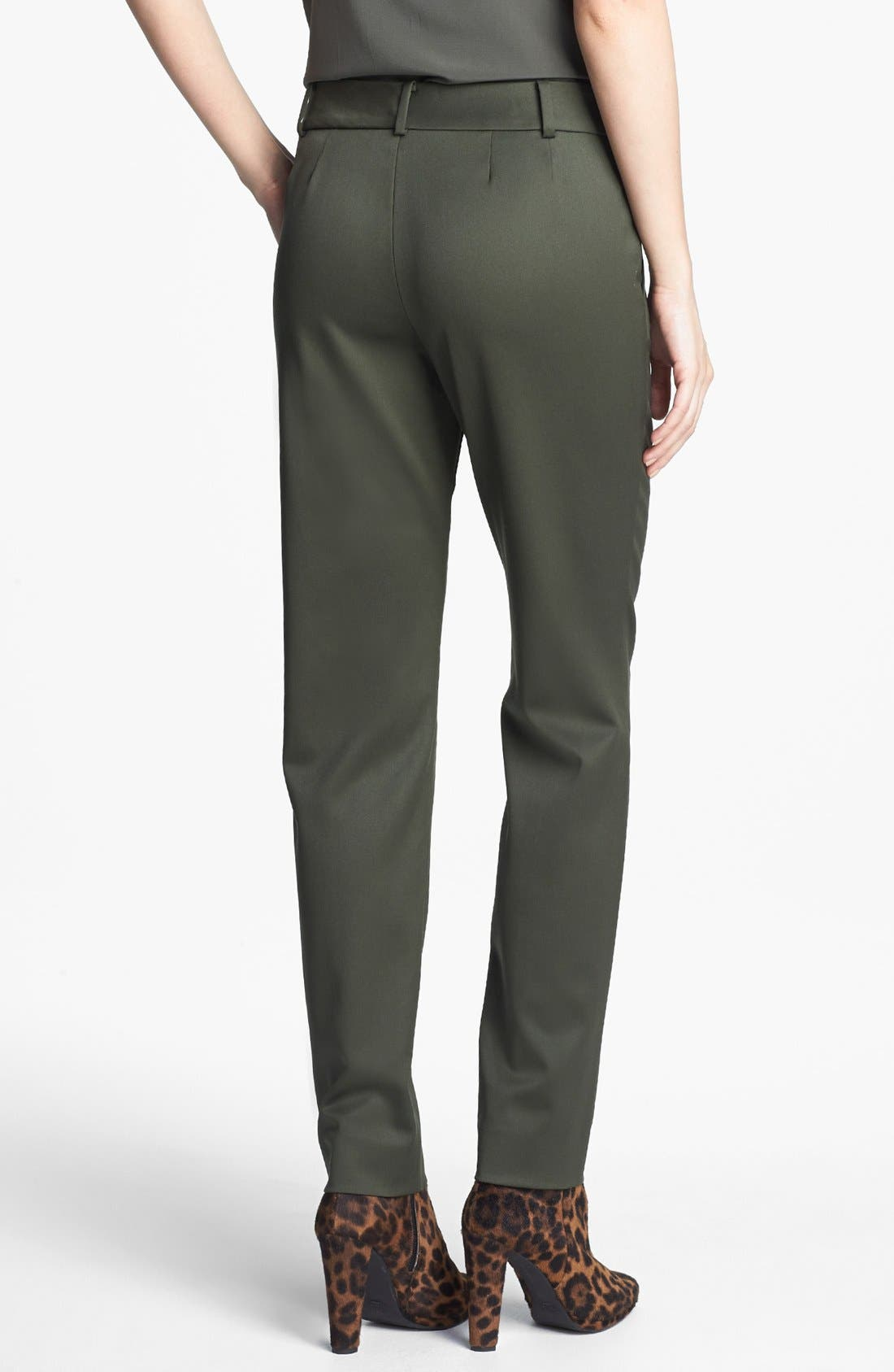 Alternate Image 3  - St. John Collection 'Carine' Venetian Wool Ankle Pants
