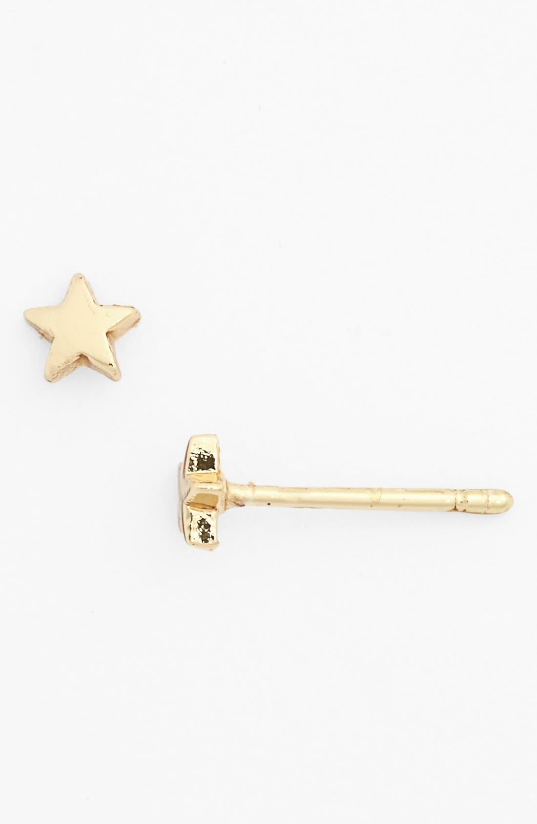 Alternate Image 1 Selected - South Sun 'Star' Stud Earrings (Juniors)