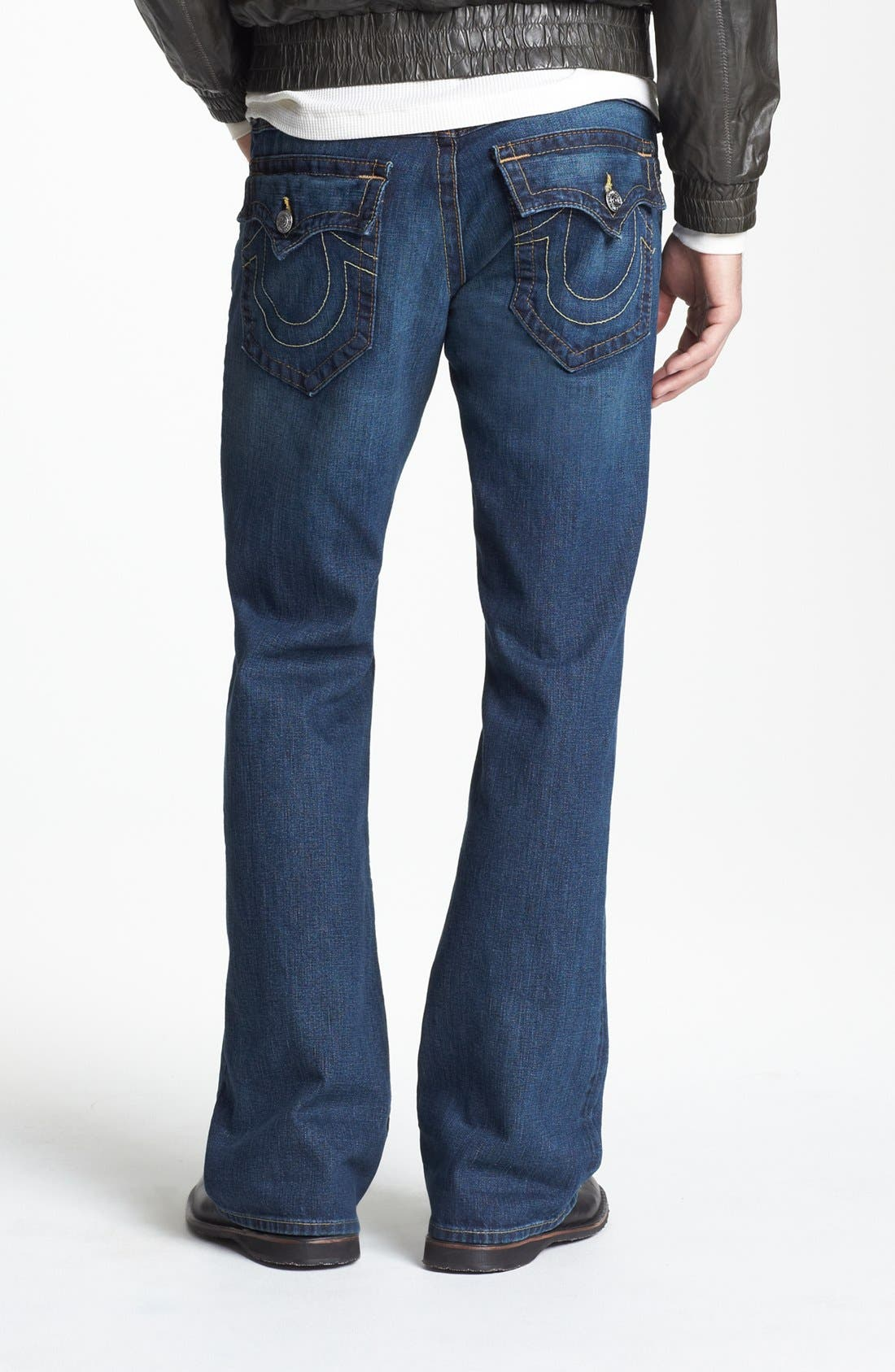 Alternate Image 1 Selected - True Religion Brand Jeans 'Billy' Bootcut Jeans (Monte)