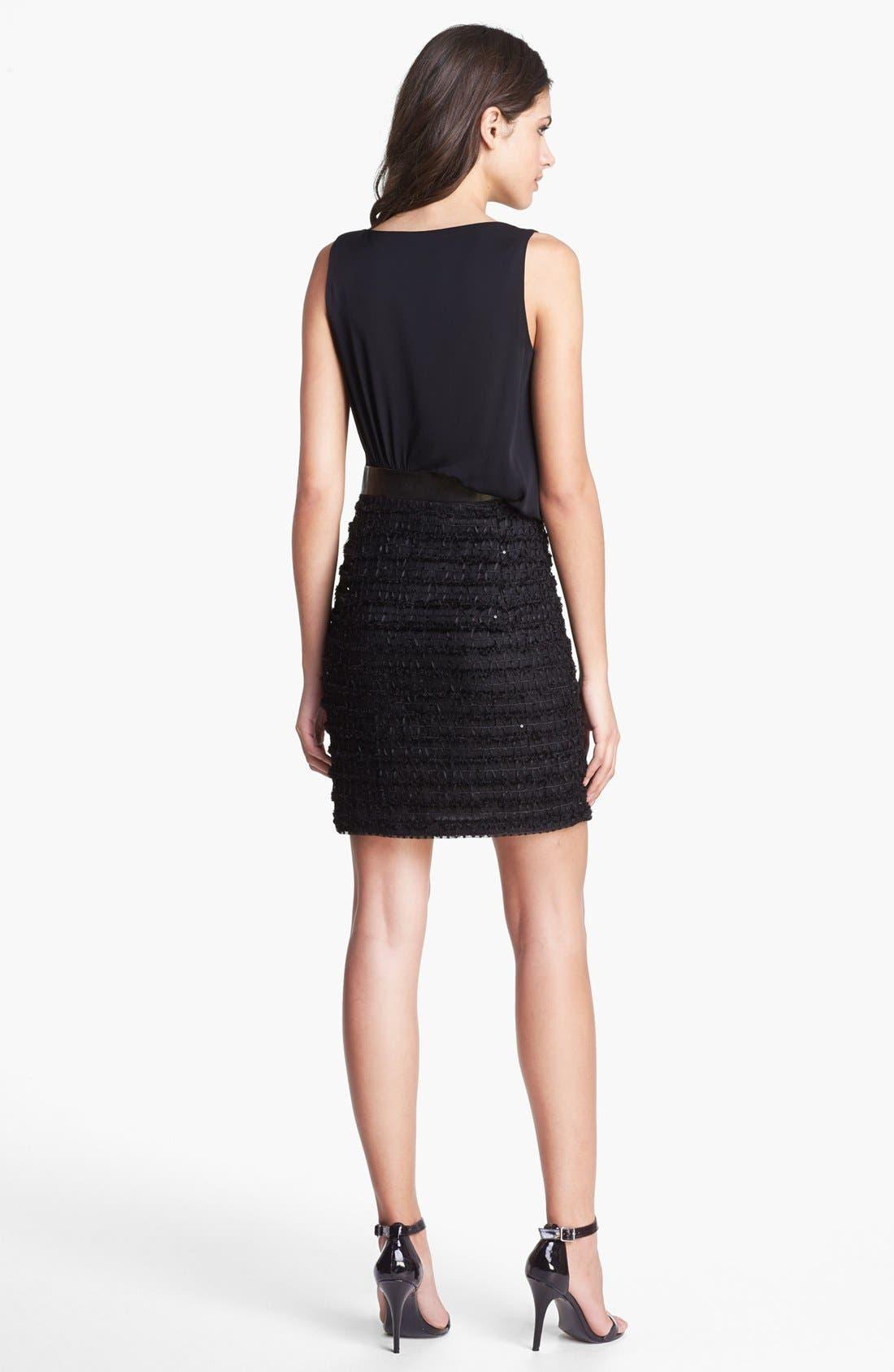 Alternate Image 2  - Milly Asymmetrical Blouson Dress