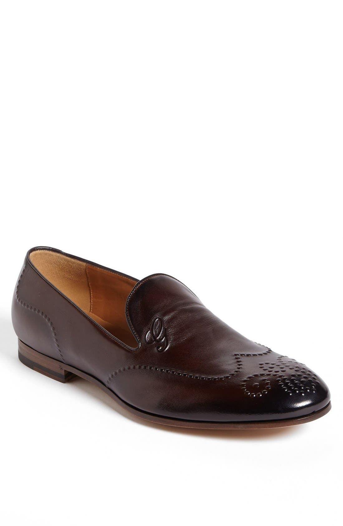Alternate Image 1 Selected - Gucci 'Beren' Loafer