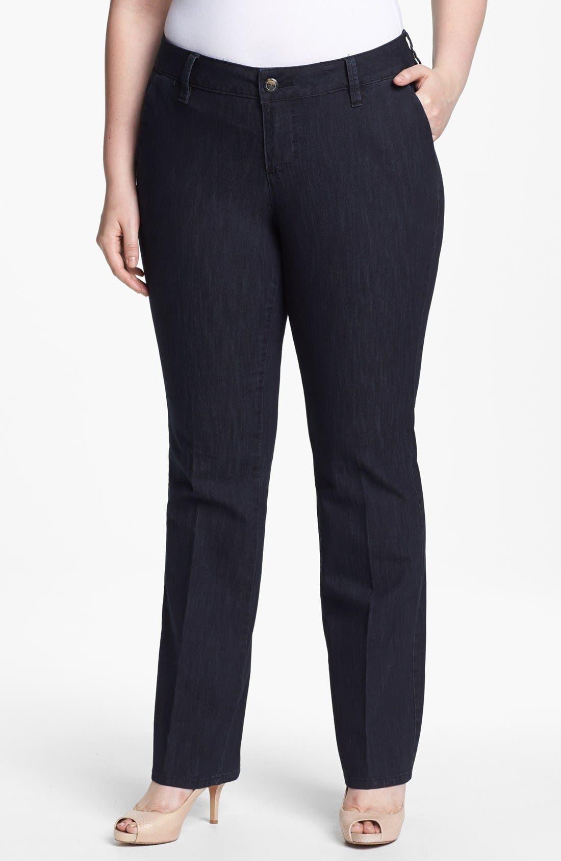Main Image - Jag Jeans 'Elisha' Trouser Jeans (Plus Size)
