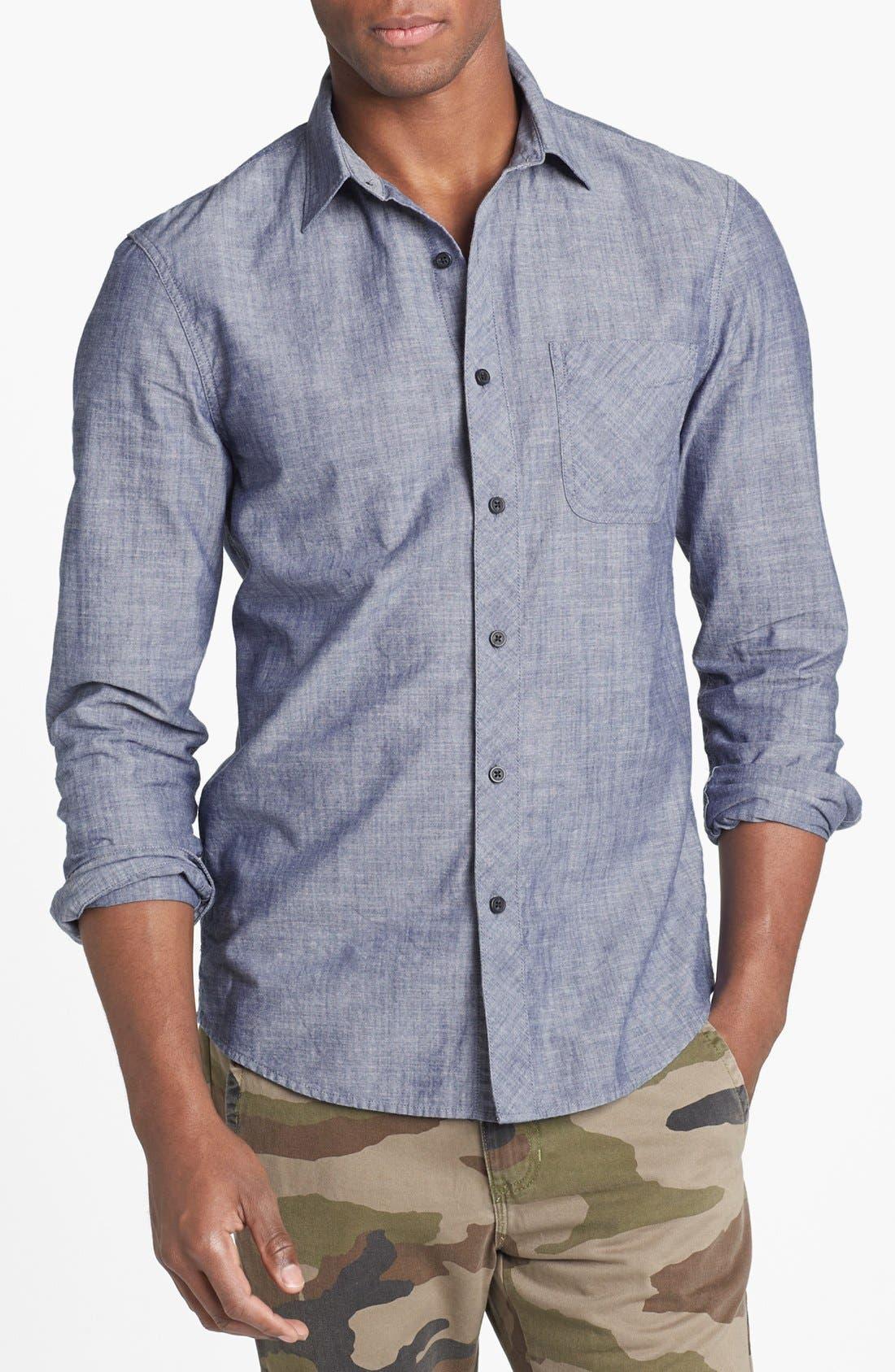 Alternate Image 1 Selected - 1901 Chambray Shirt
