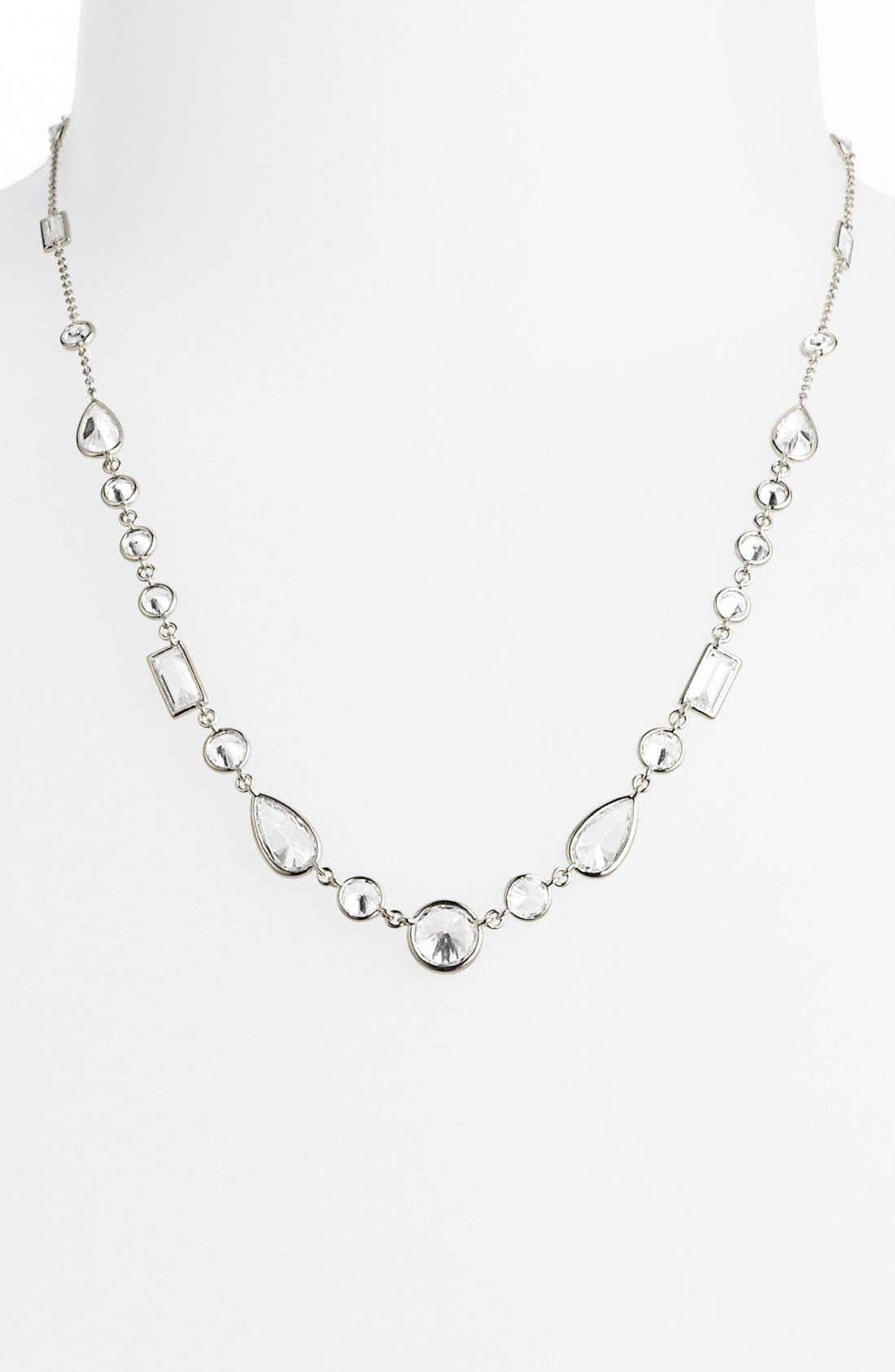 Alternate Image 2  - Nadri Mixed Cut Cubic Zirconia Necklace (Nordstrom Exclusive)