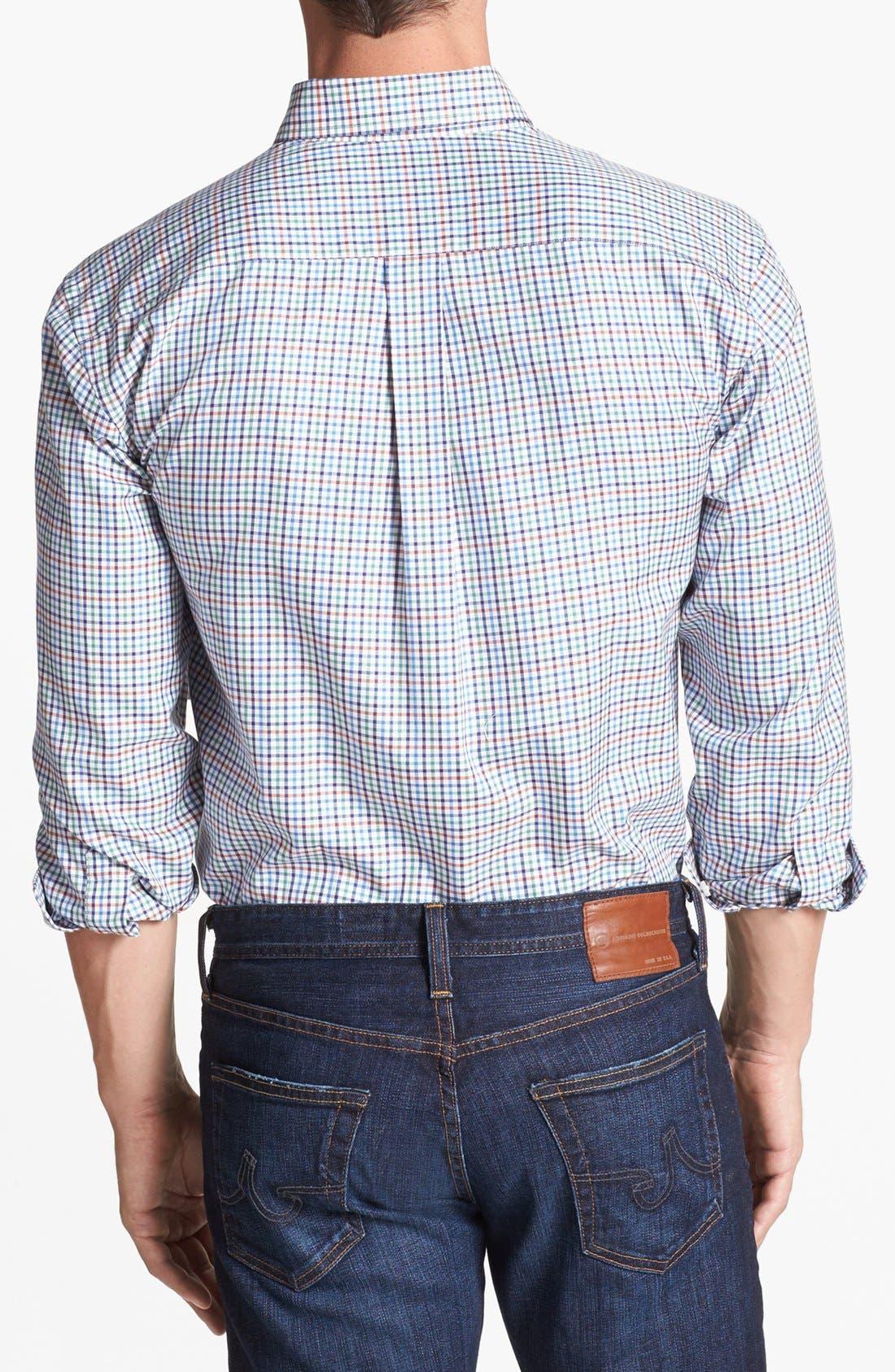 Alternate Image 2  - Vineyard Vines 'Murray Sedgwick' Regular Fit Check Sport Shirt