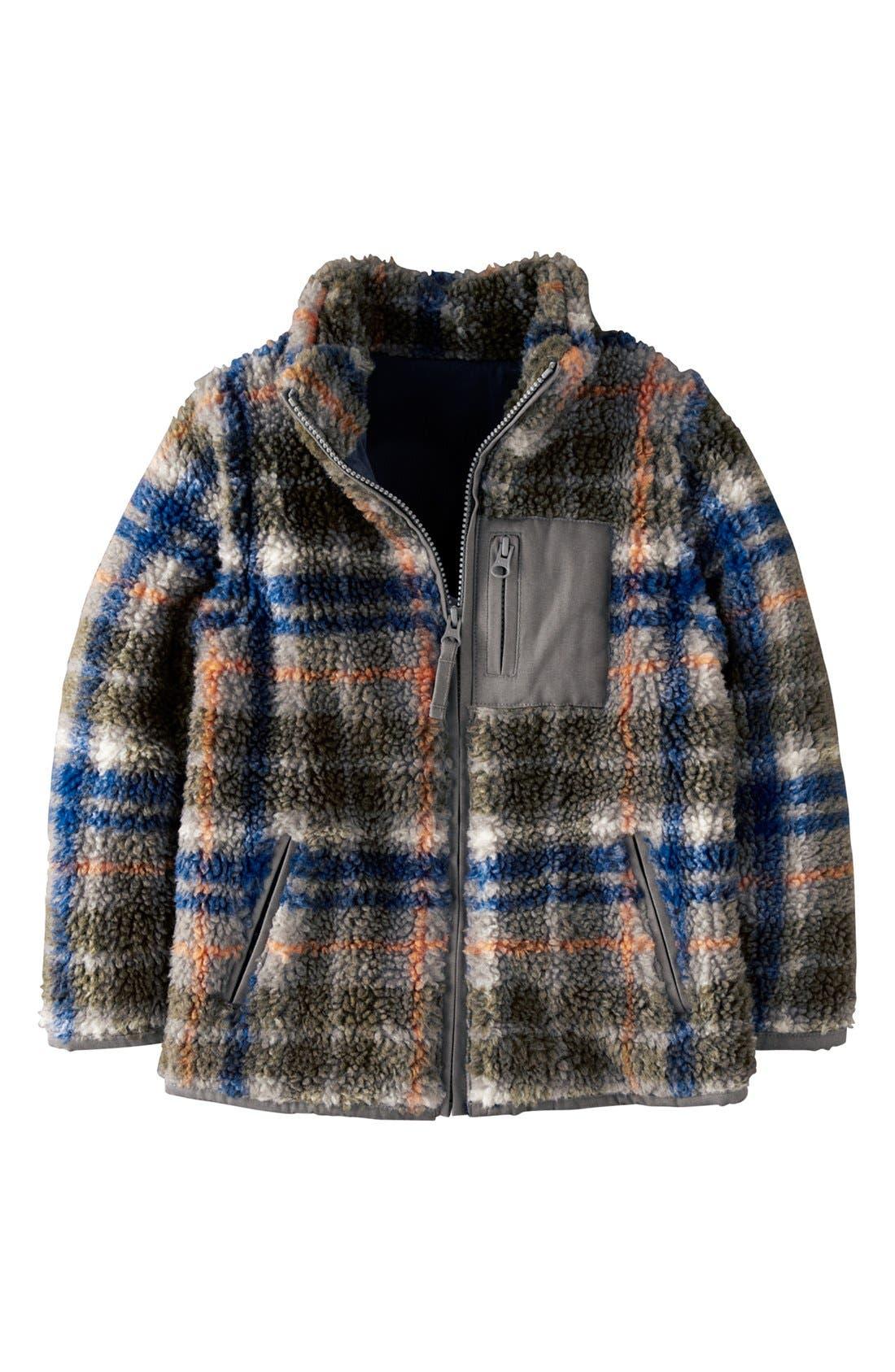 Alternate Image 1 Selected - Mini Boden Convertible Jacket (Toddler Boys, Little Boys & Big Boys)