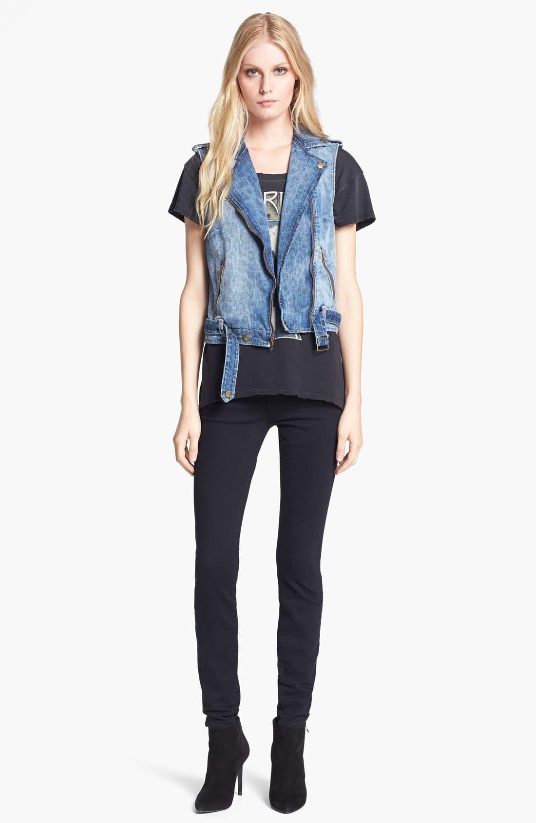 Alternate Image 4  - Current/Elliott Skinny Ankle Jeans