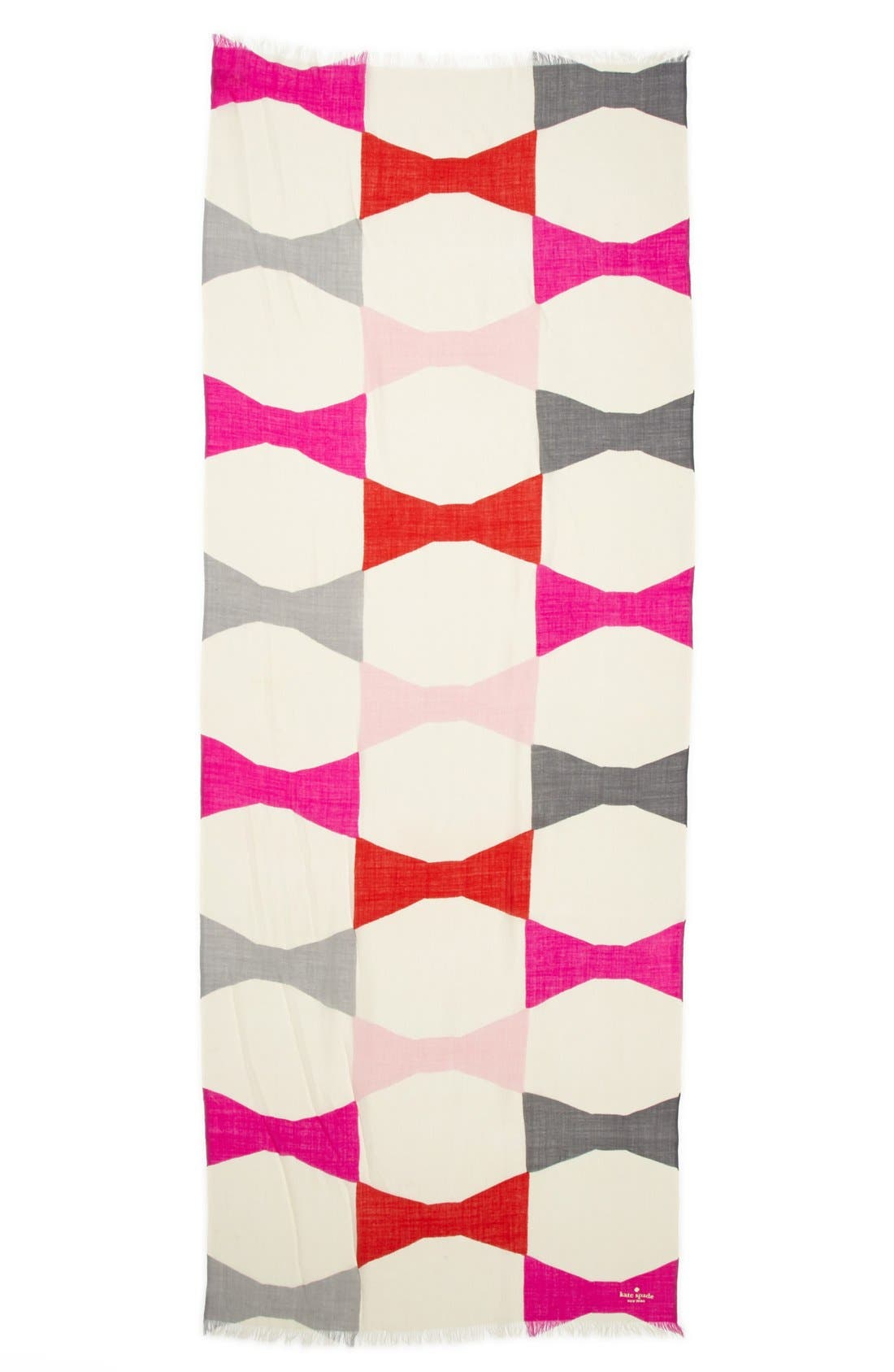 Alternate Image 2  - kate spade new york 'bow tie' scarf