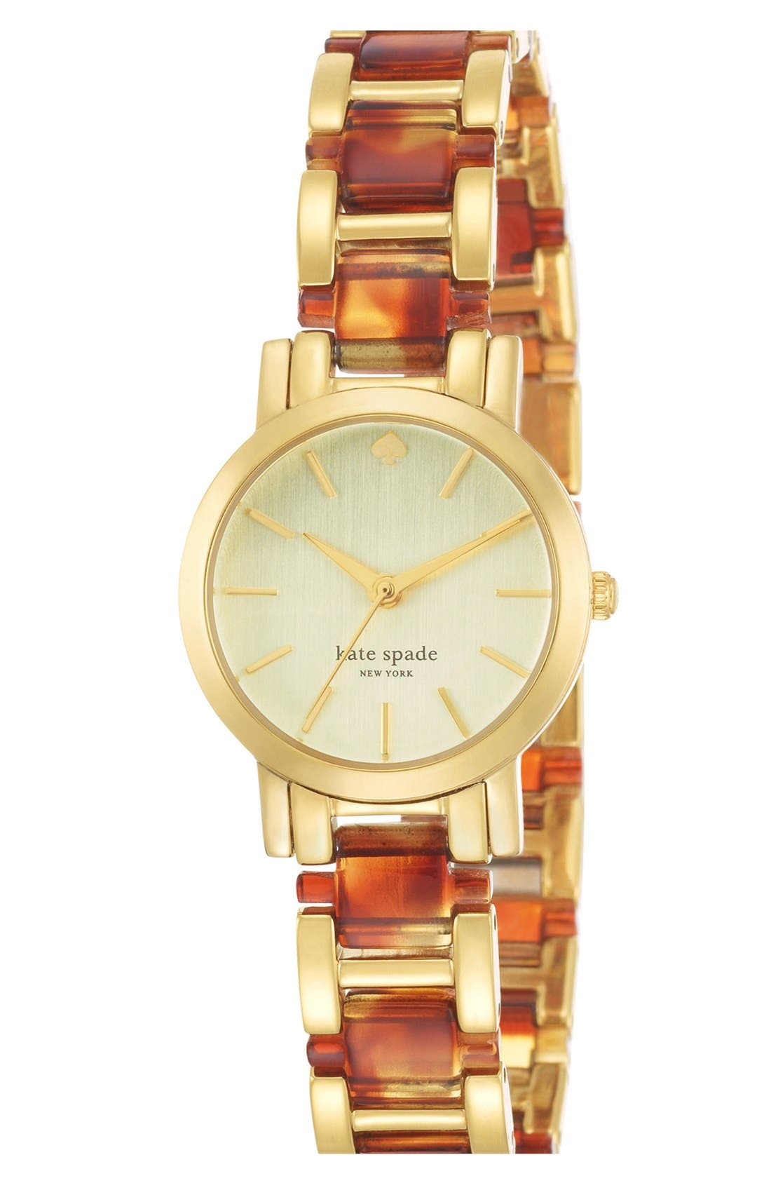 Alternate Image 2  - kate spade new york 'gramercy mini' bracelet watch, 24mm