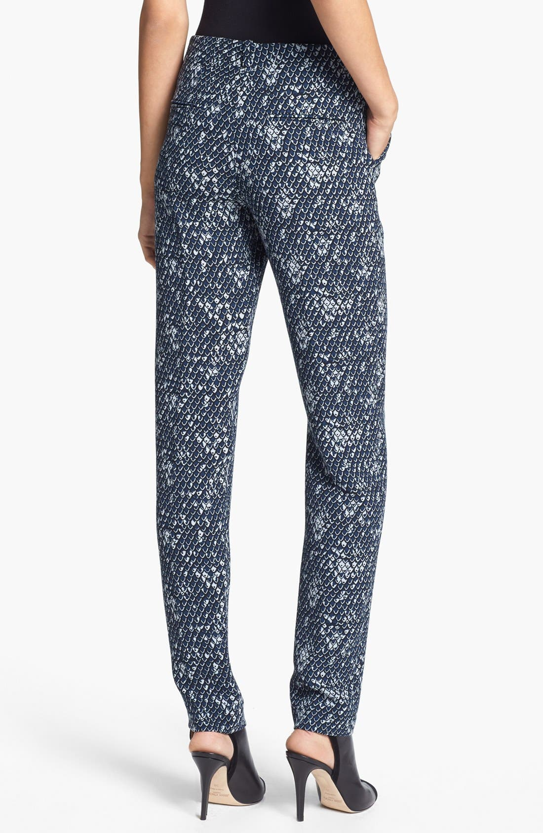 Alternate Image 2  - KENZO Dragon Scale Print Crepe Pants