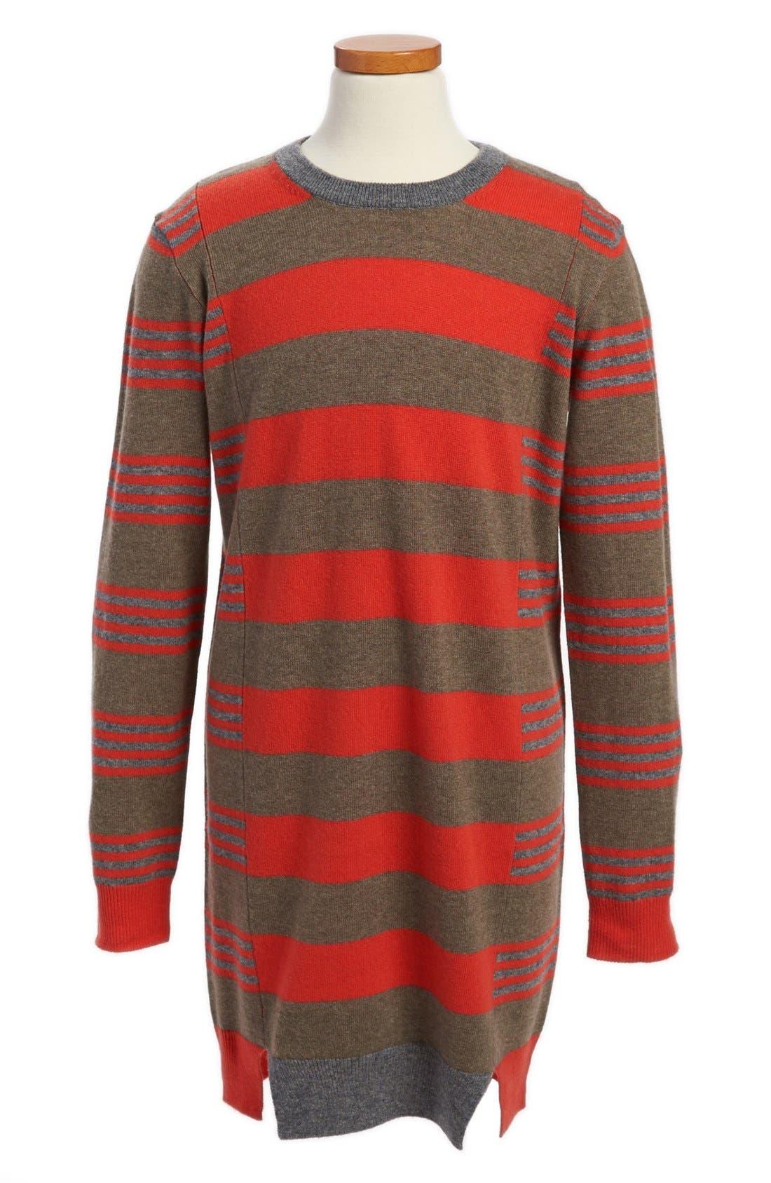 Main Image - Stella McCartney Kids 'Sadie' Stripe Sweater Dress (Little Girls & Big Girls)