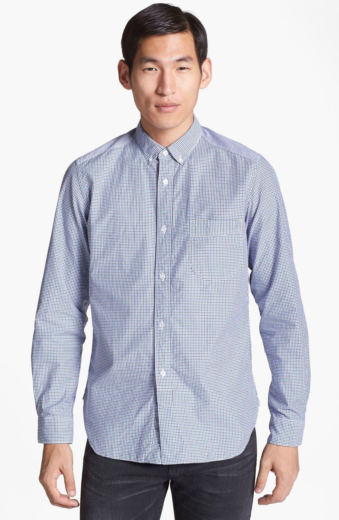 Alternate Image 1 Selected - Junya Watanabe Check Cotton Shirt