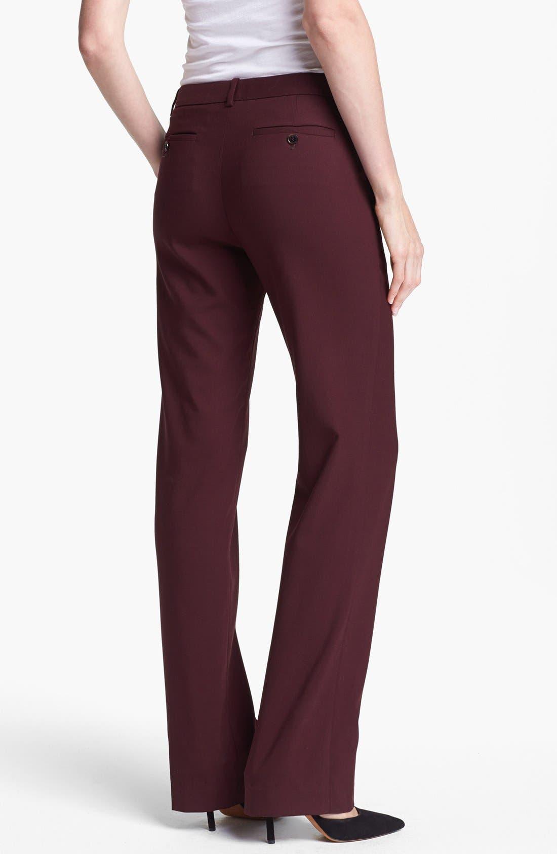 Alternate Image 2  - Theory 'Avano' Stretch Wool Pants