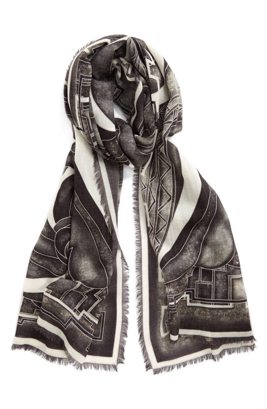 Alternate Image 1 Selected - Emilio Pucci 'Stella' Wool Shawl