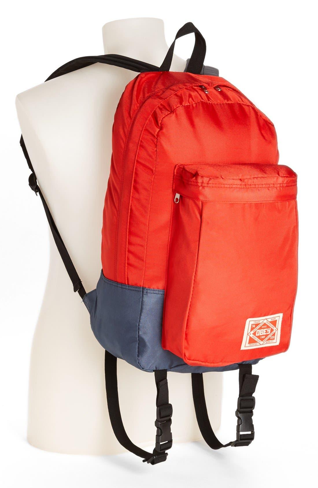 Alternate Image 4  - Obey 'Commuter' Backpack